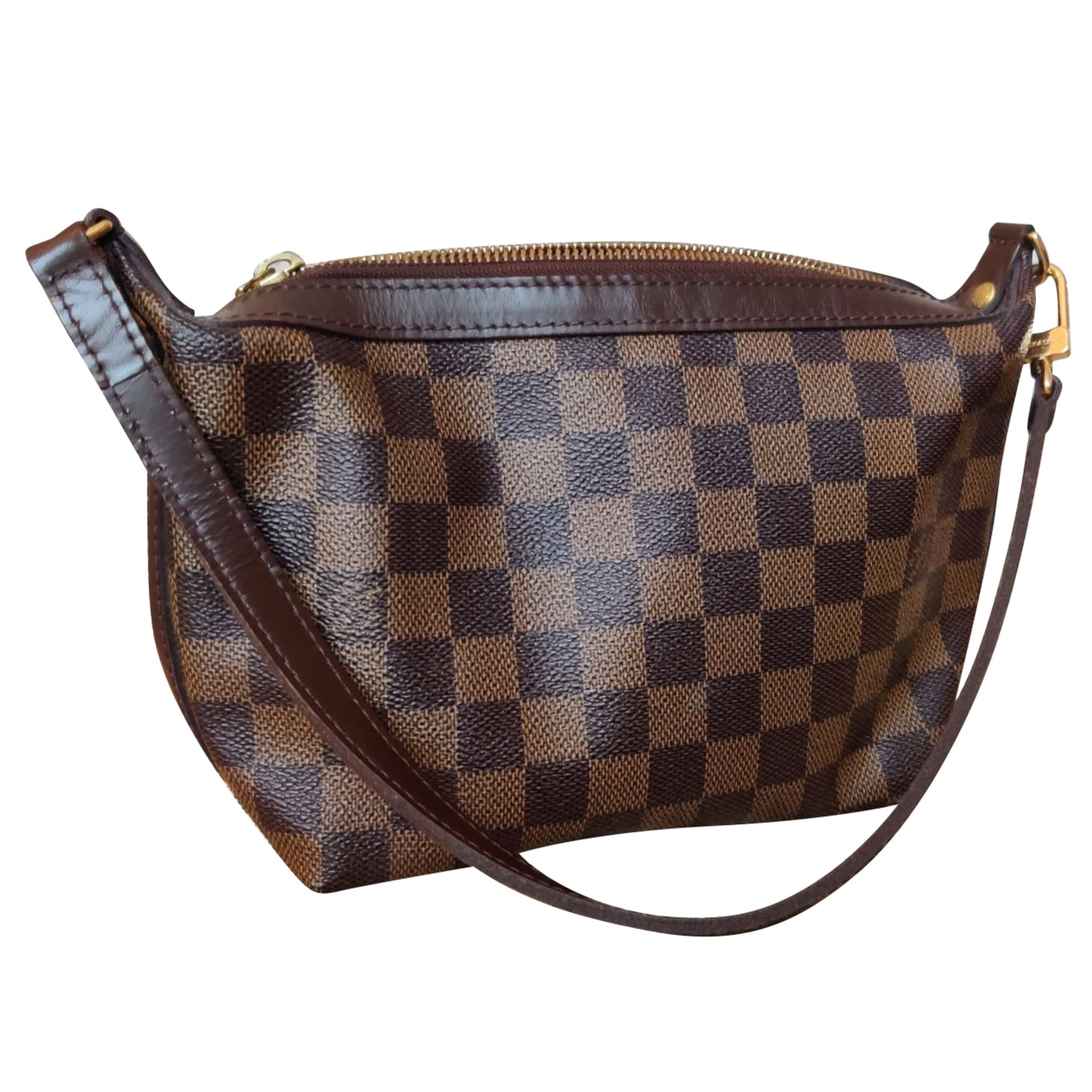 Leather Shoulder Bag LOUIS VUITTON Brown