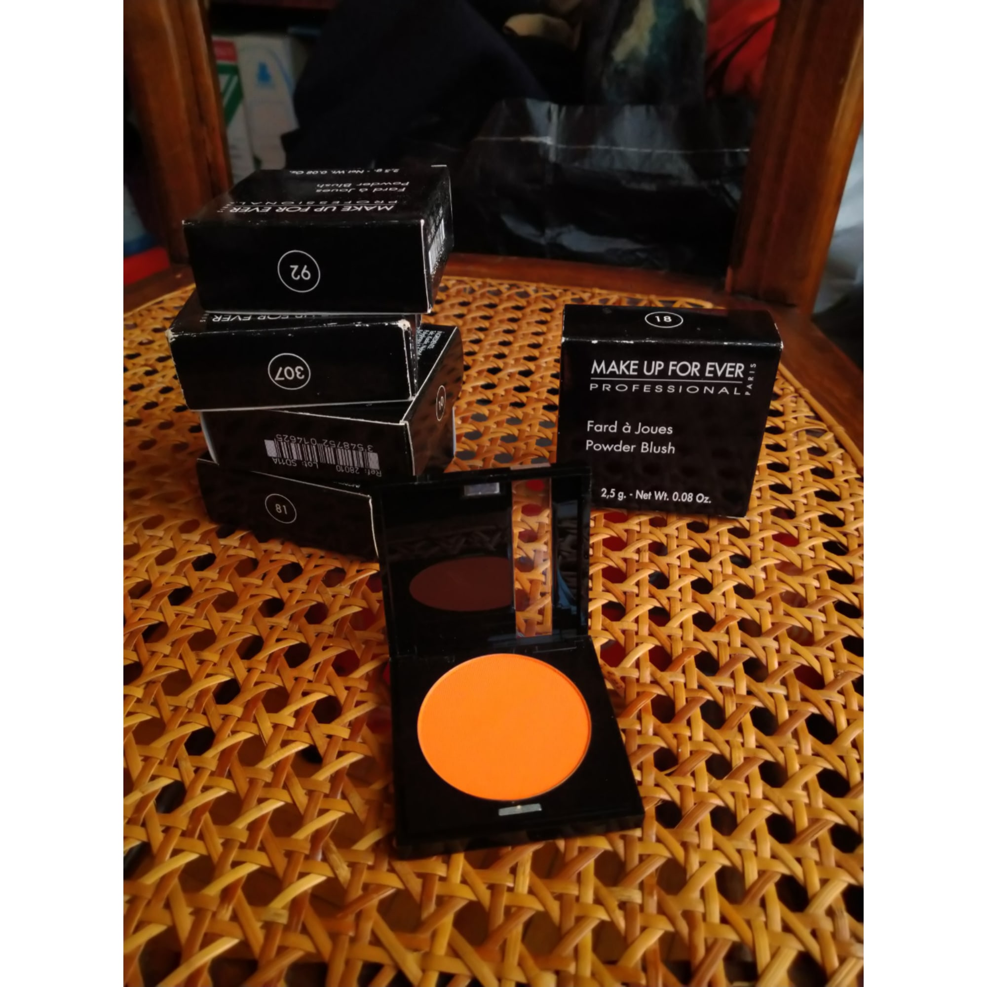 Blush, fard à joues MAKE UP FOR EVER orange