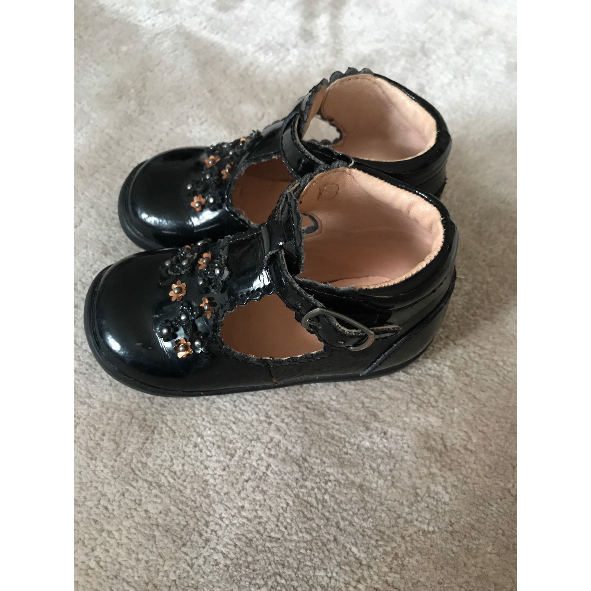 Chaussures à boucle VERTBAUDET Noir