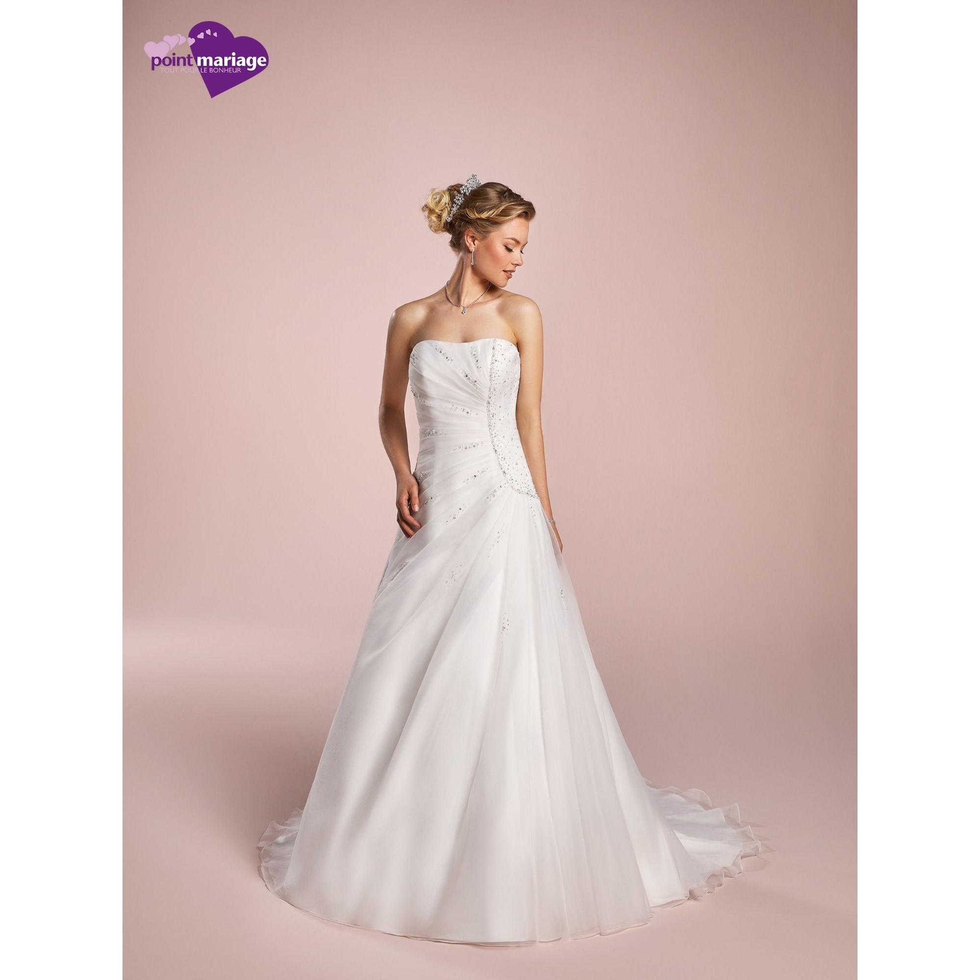 Robe de mariée POINT MARIAGE 50 (XXXXL) blanc