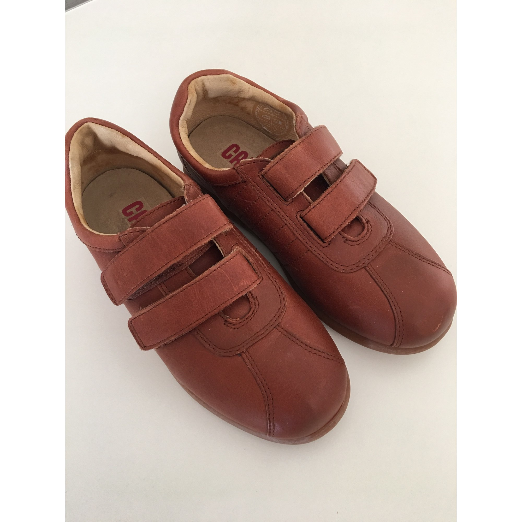 Velcro Shoes CAMPER Brown