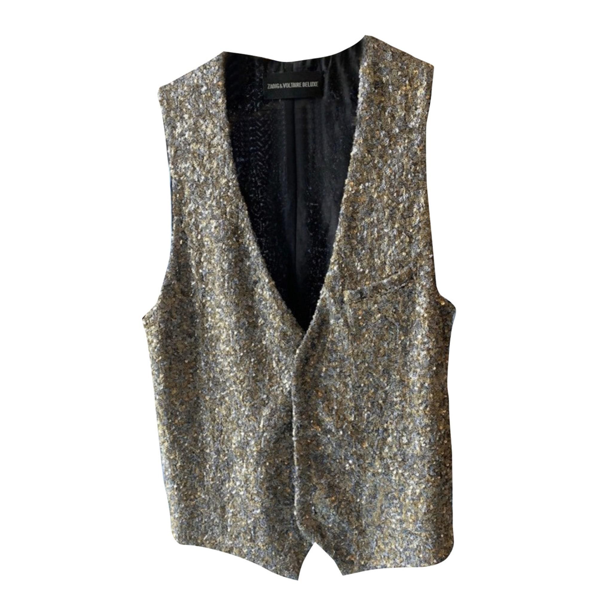 Jacket ZADIG & VOLTAIRE Golden, bronze, copper