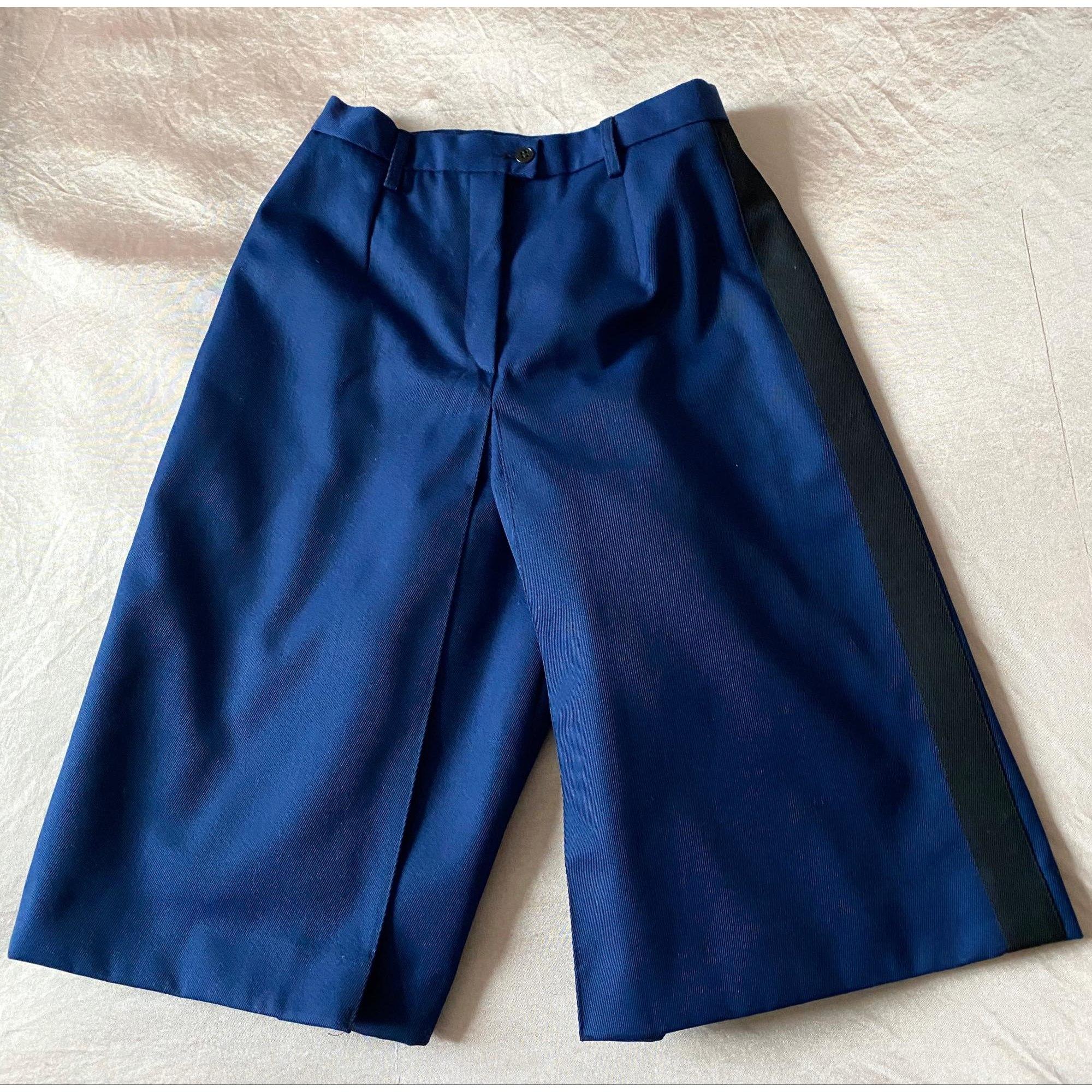 Short VINTAGE Bleu, bleu marine, bleu turquoise