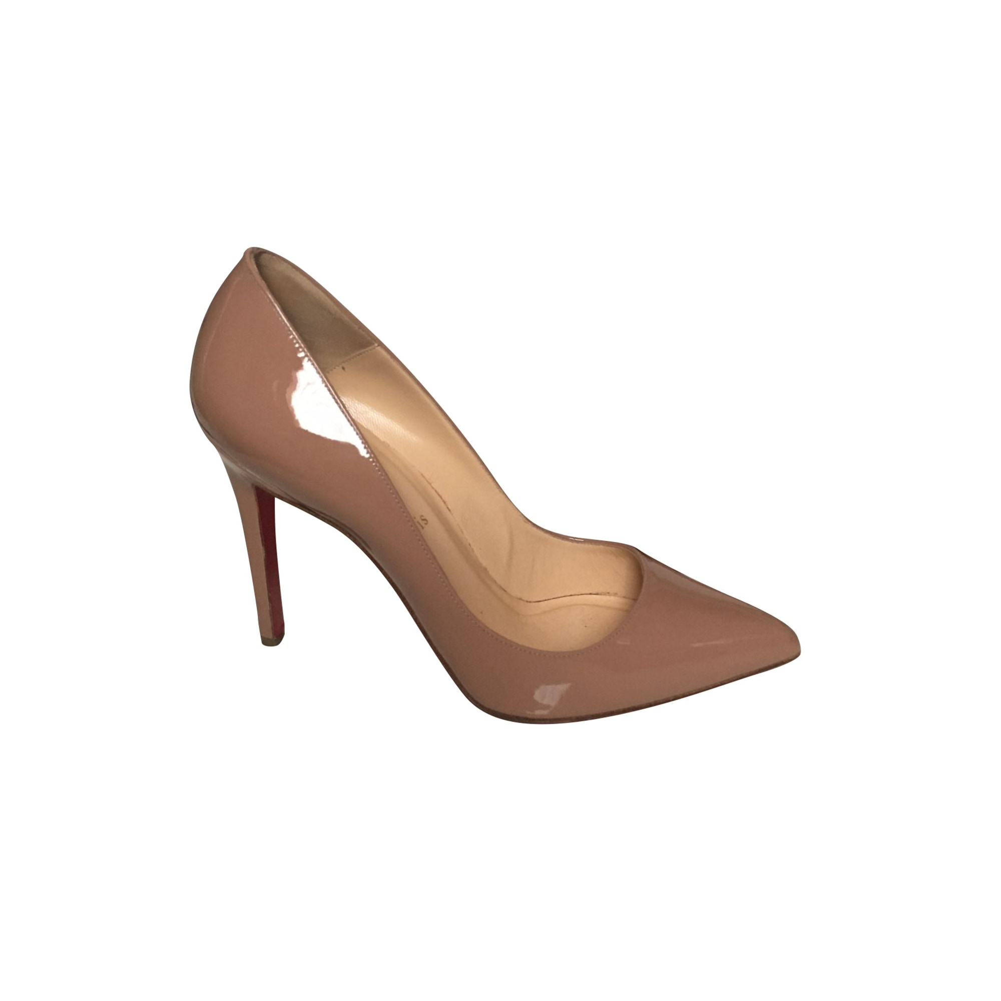 Pumps CHRISTIAN LOUBOUTIN Pigalle Beige