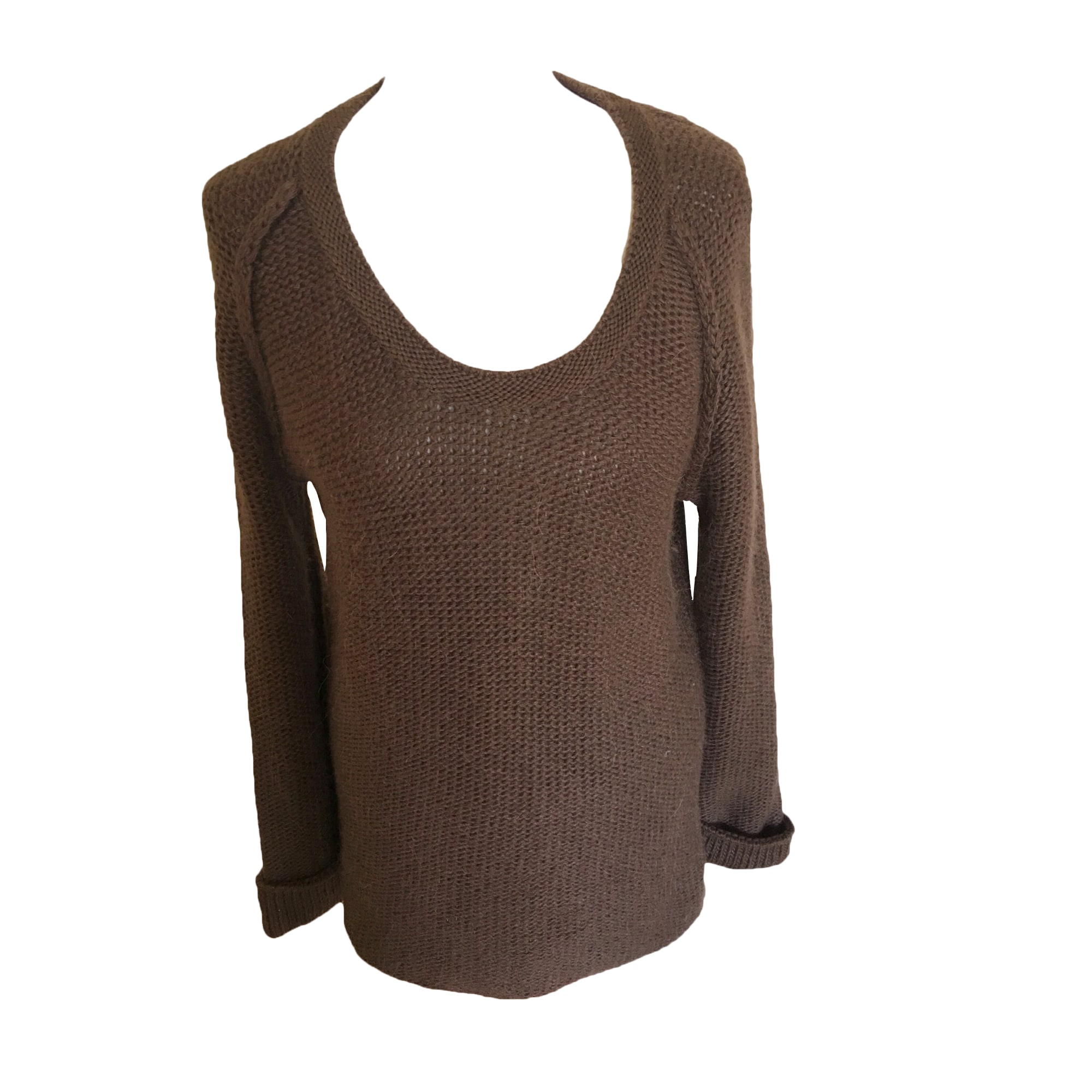 Pull CLAUDIE PIERLOT Marron