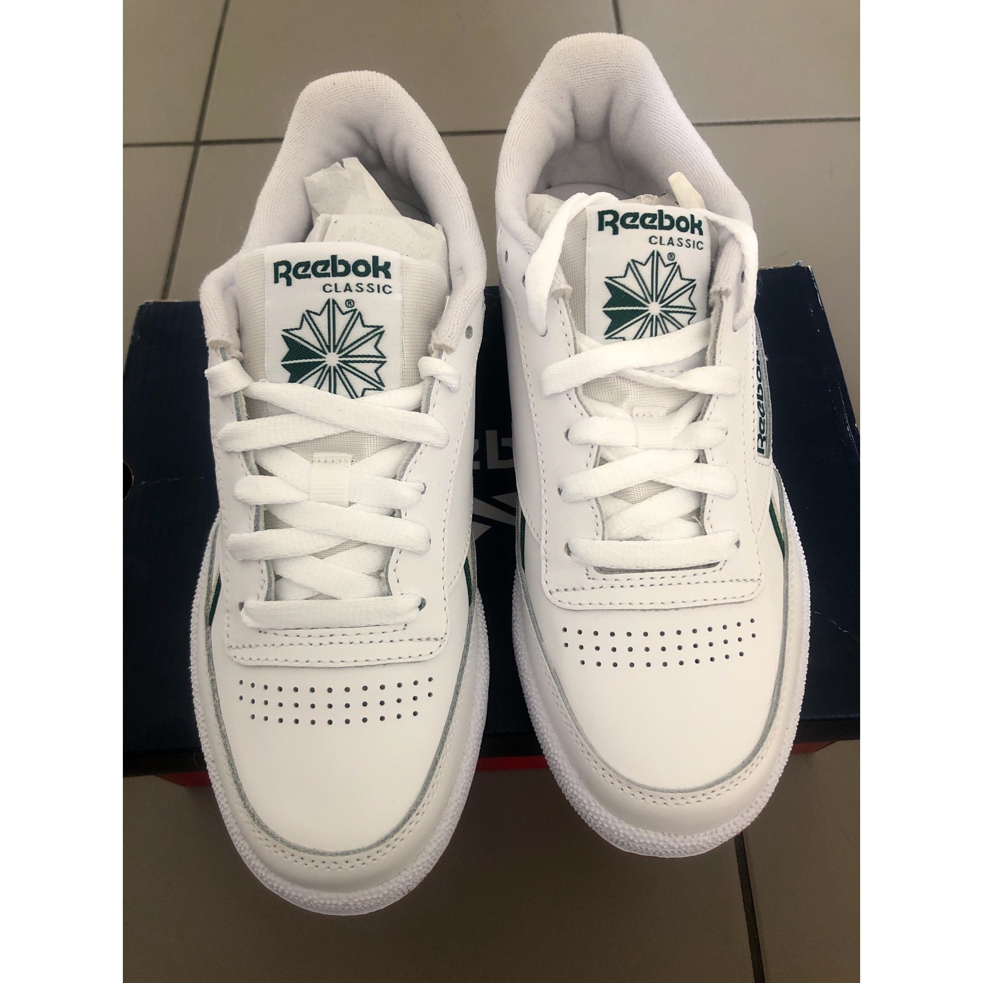 Baskets REEBOK Blanc, blanc cassé, écru