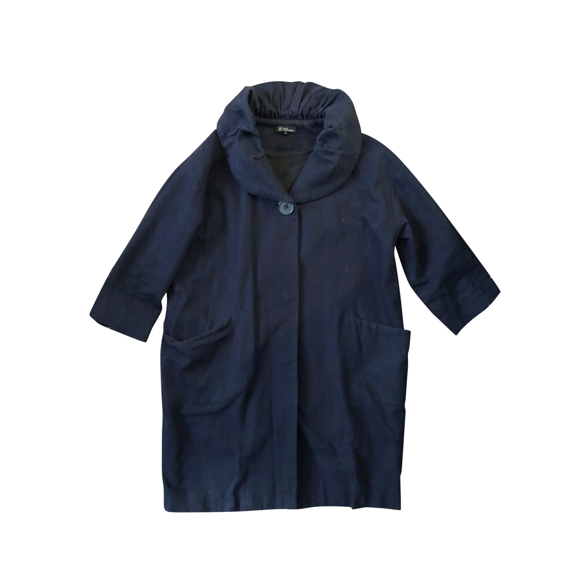 Coat ISABEL MARANT Blue, navy, turquoise