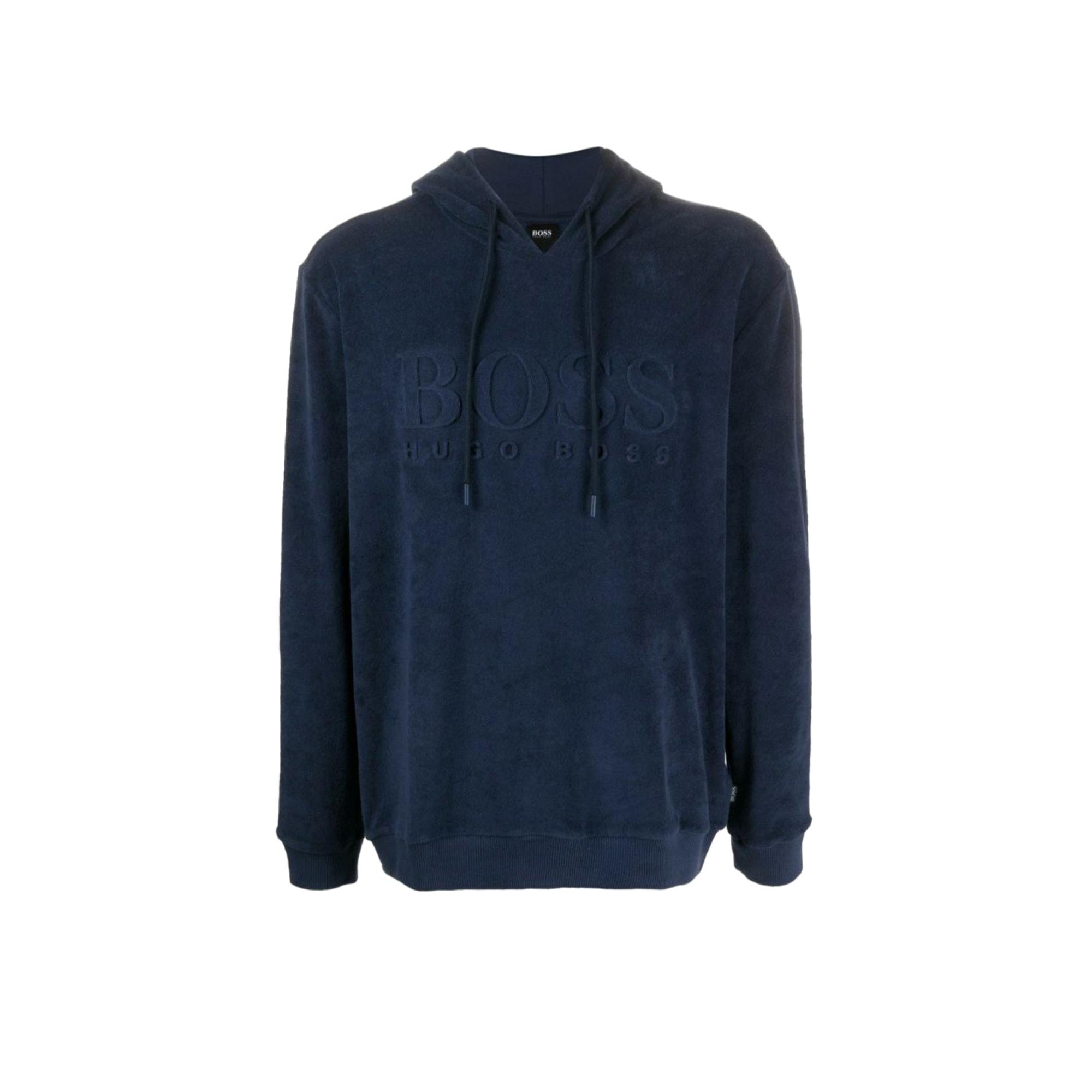 Sweat HUGO BOSS Bleu, bleu marine, bleu turquoise