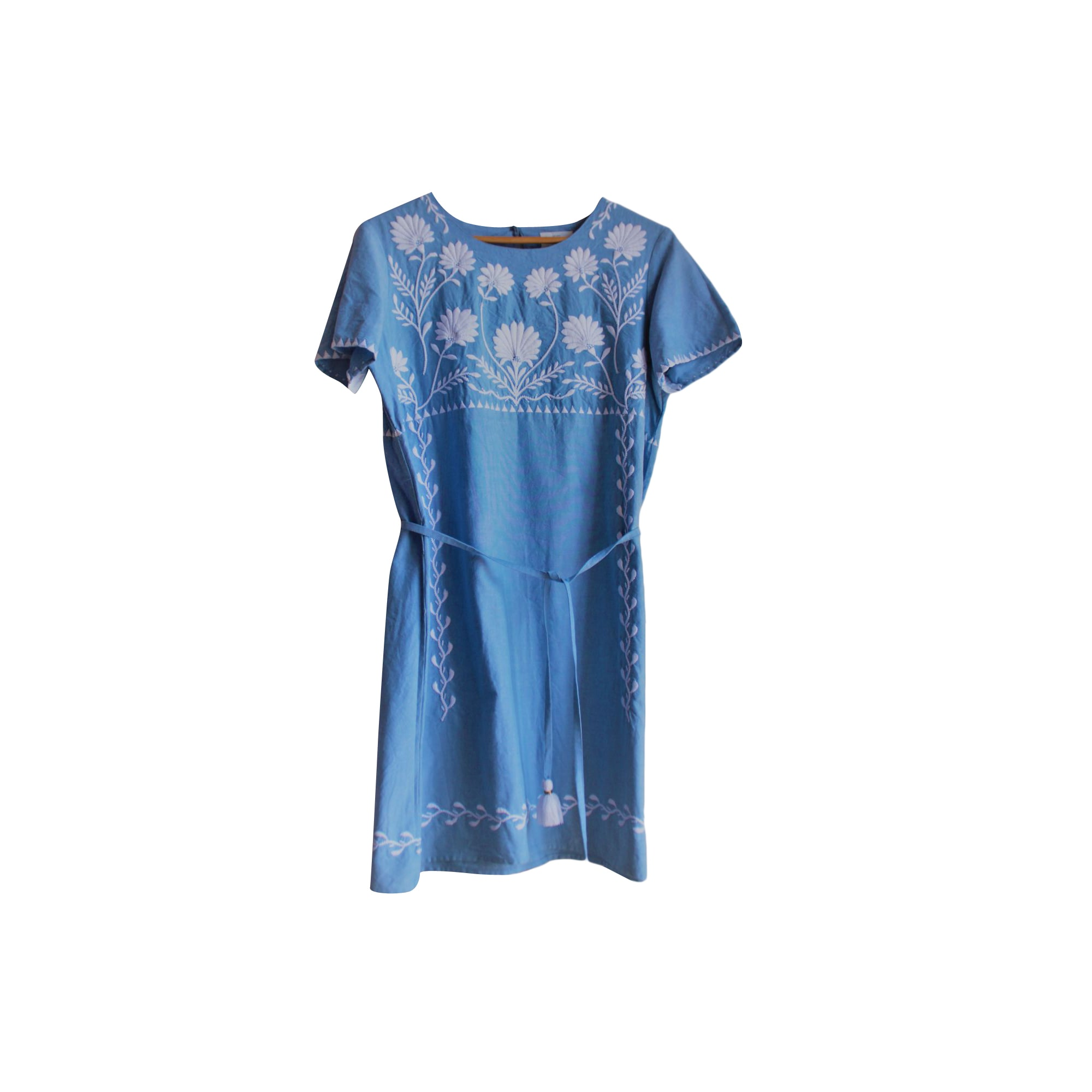 Robe mi-longue SÉZANE Bleu, bleu marine, bleu turquoise