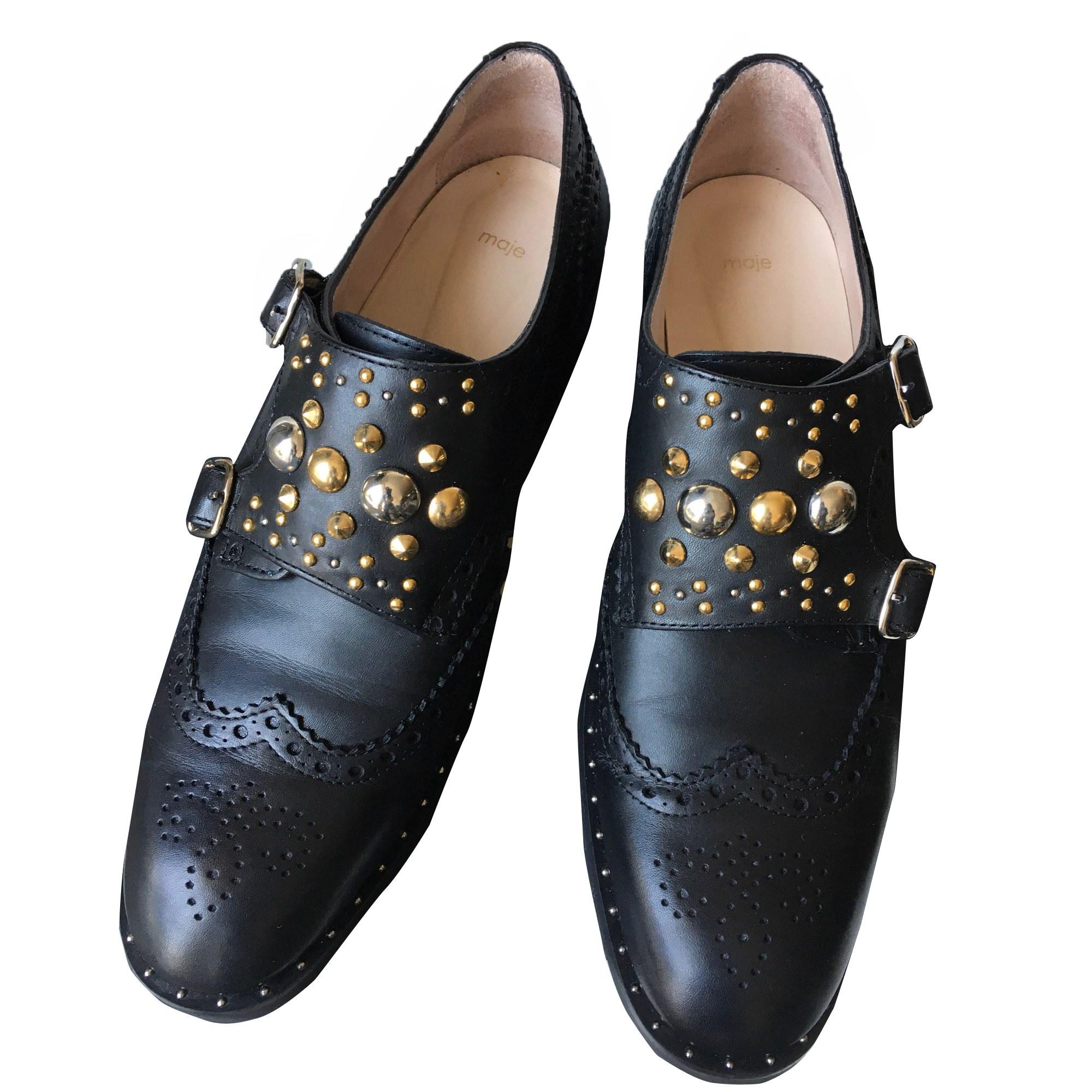 Loafers MAJE Black