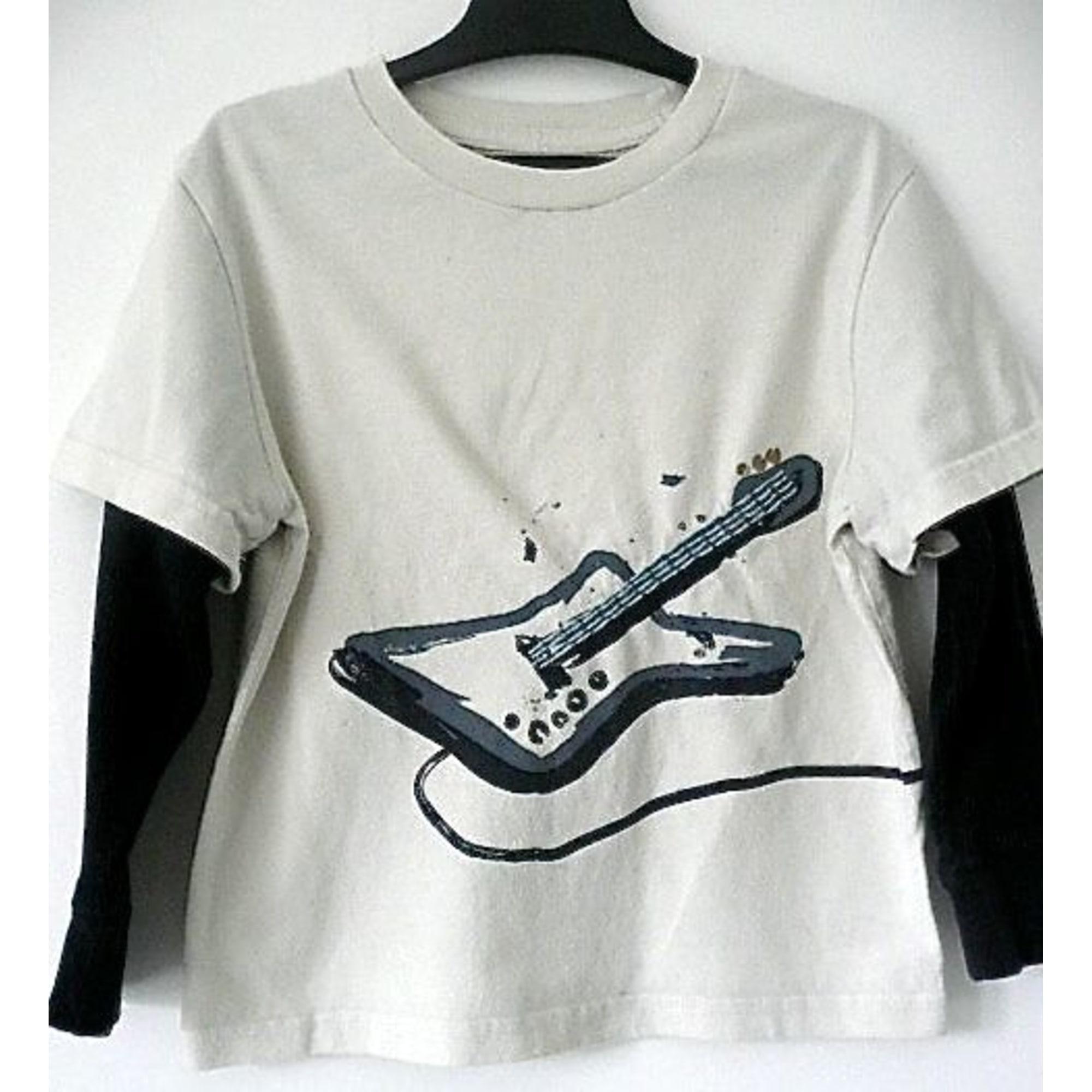 Tee-shirt GAP Blanc, blanc cassé, écru