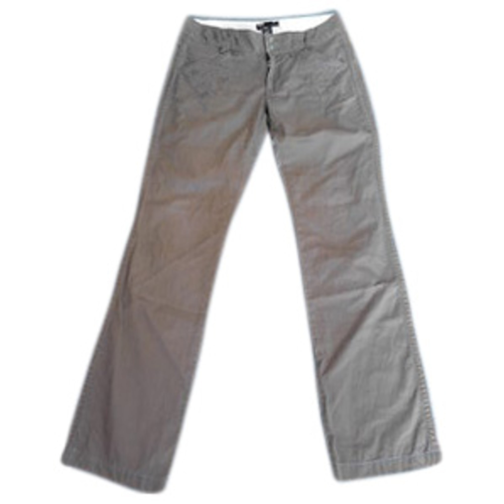Pantalon droit DIESEL Marron