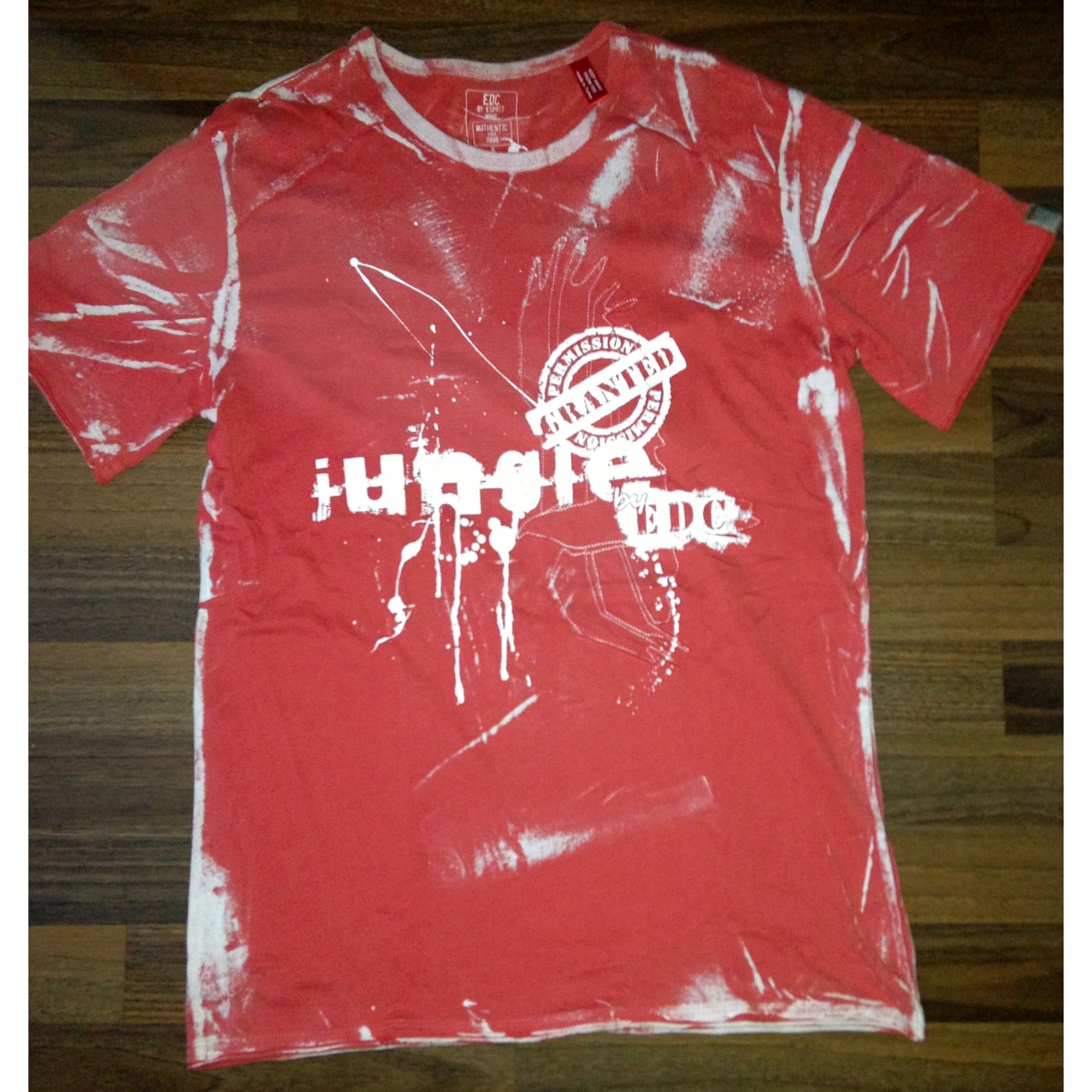 Tee-shirt ESPRIT Rouge, bordeaux