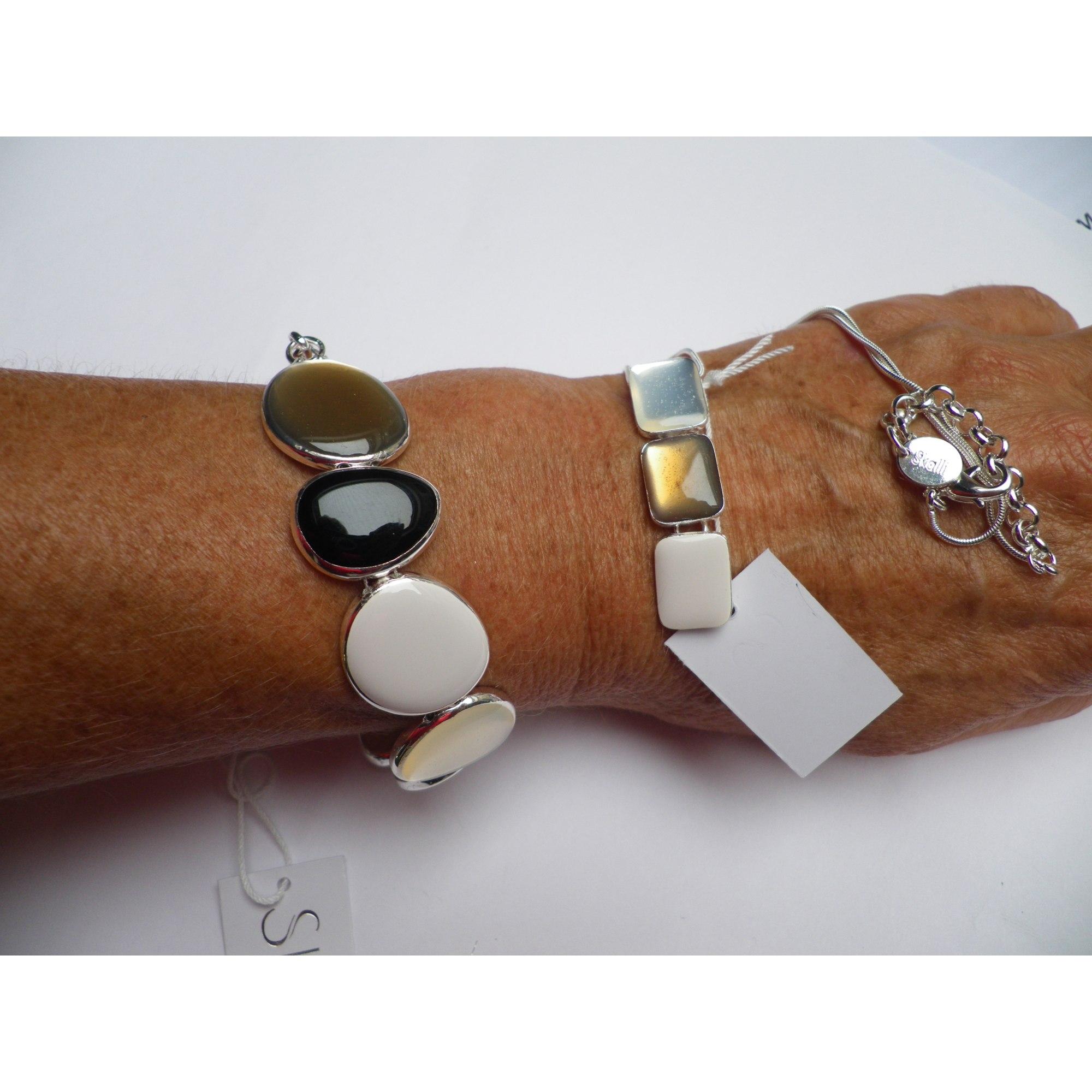 Parure bijoux SKALLI métal beige