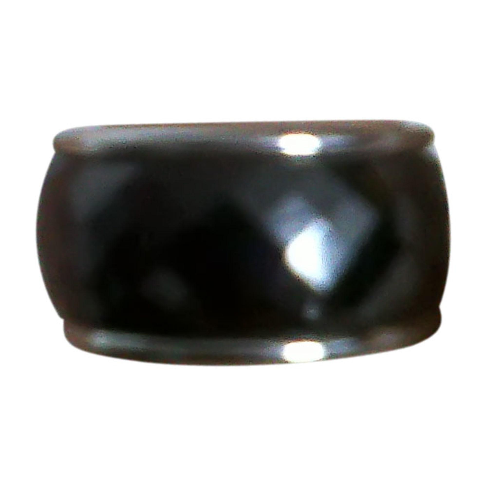 Bague ULTIMATE CERAMIC céramique argent 50