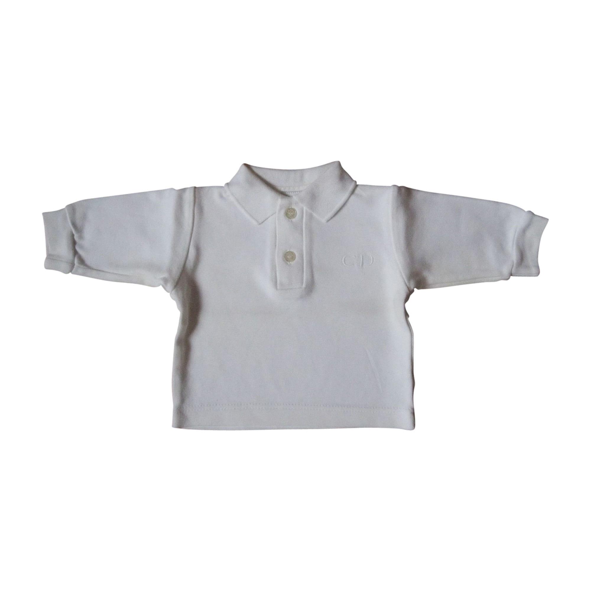 Polo BABY BABY DIOR 3 mois blanc - 352196