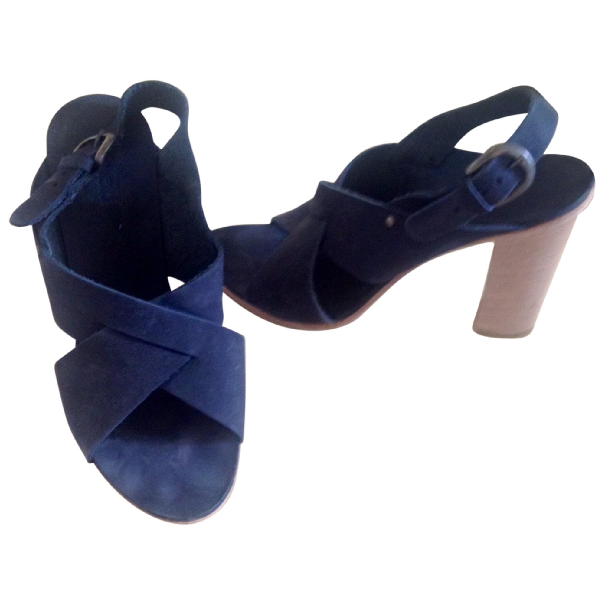 Sandali con tacchi MINELLI Blu, blu navy, turchese