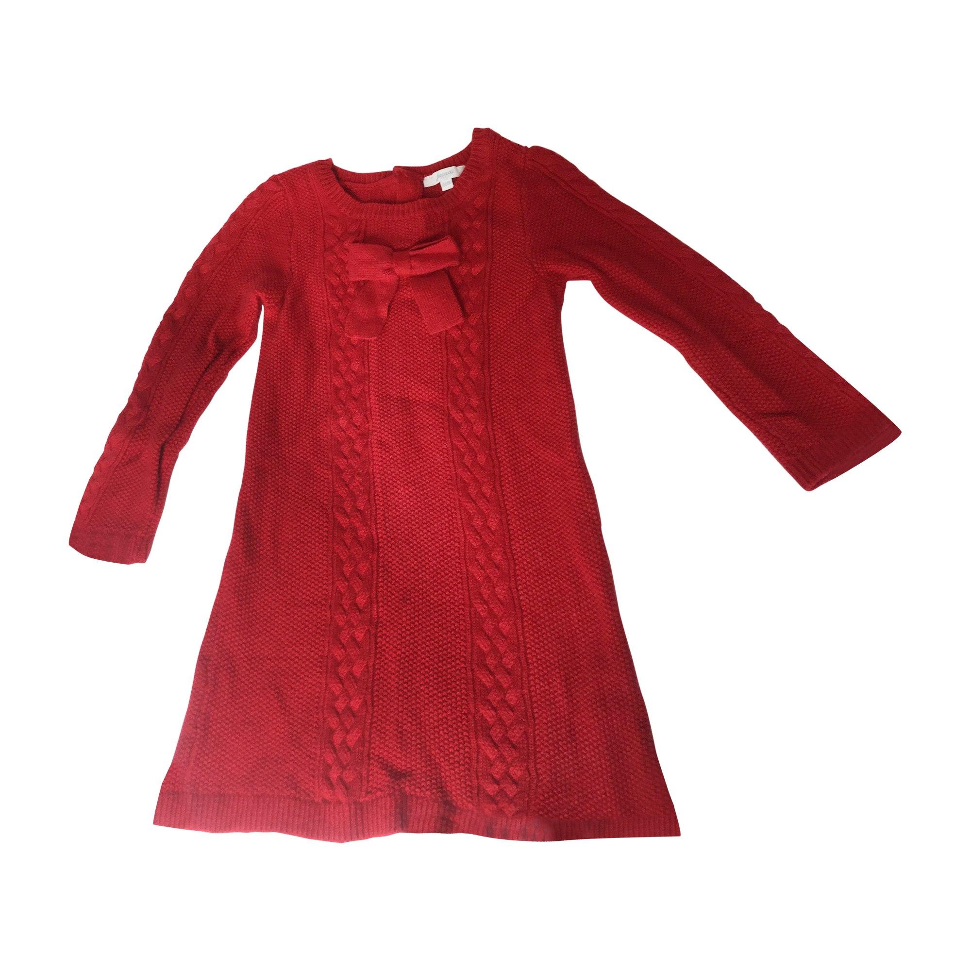 Robe JACADI Rouge, bordeaux