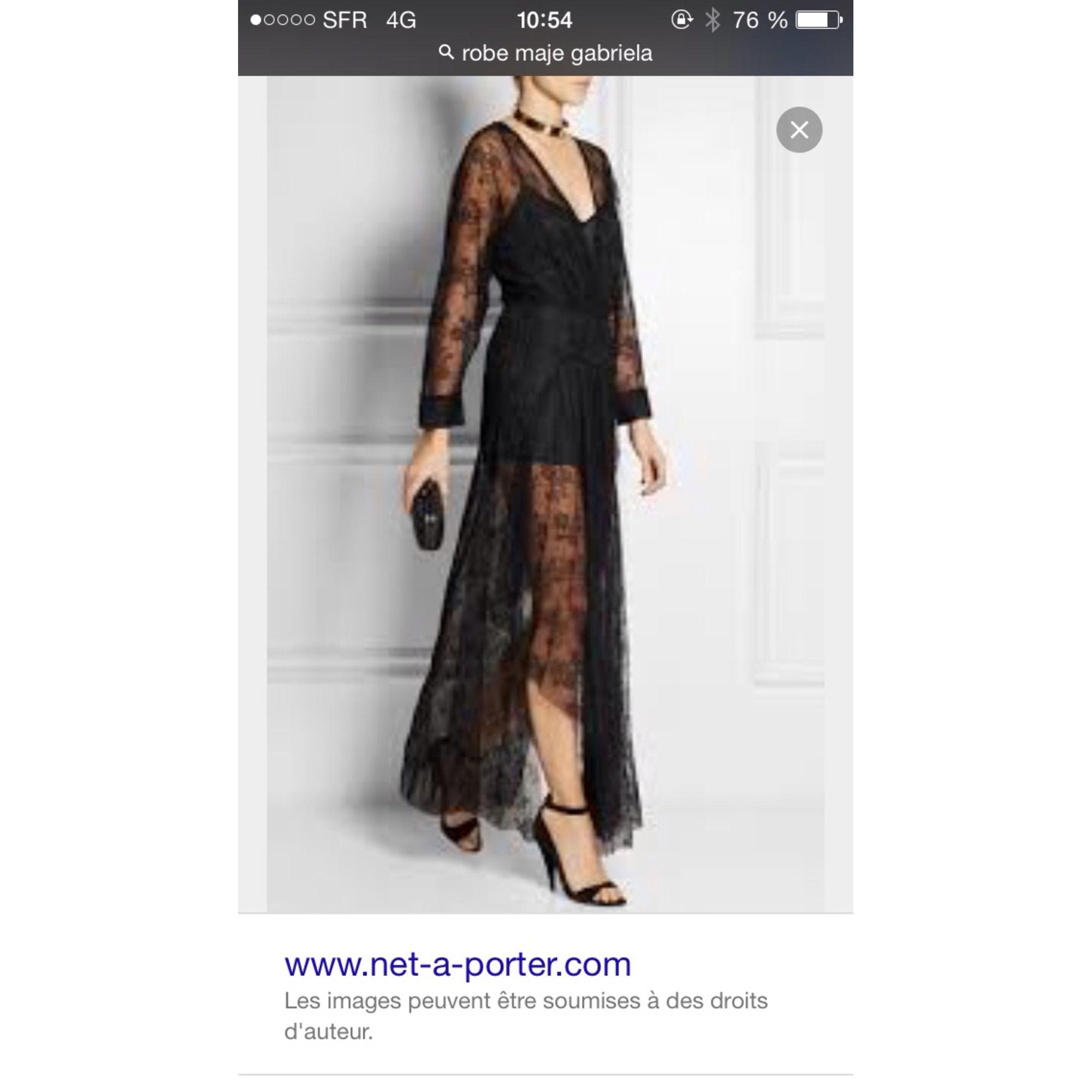 robes longues magasin maje