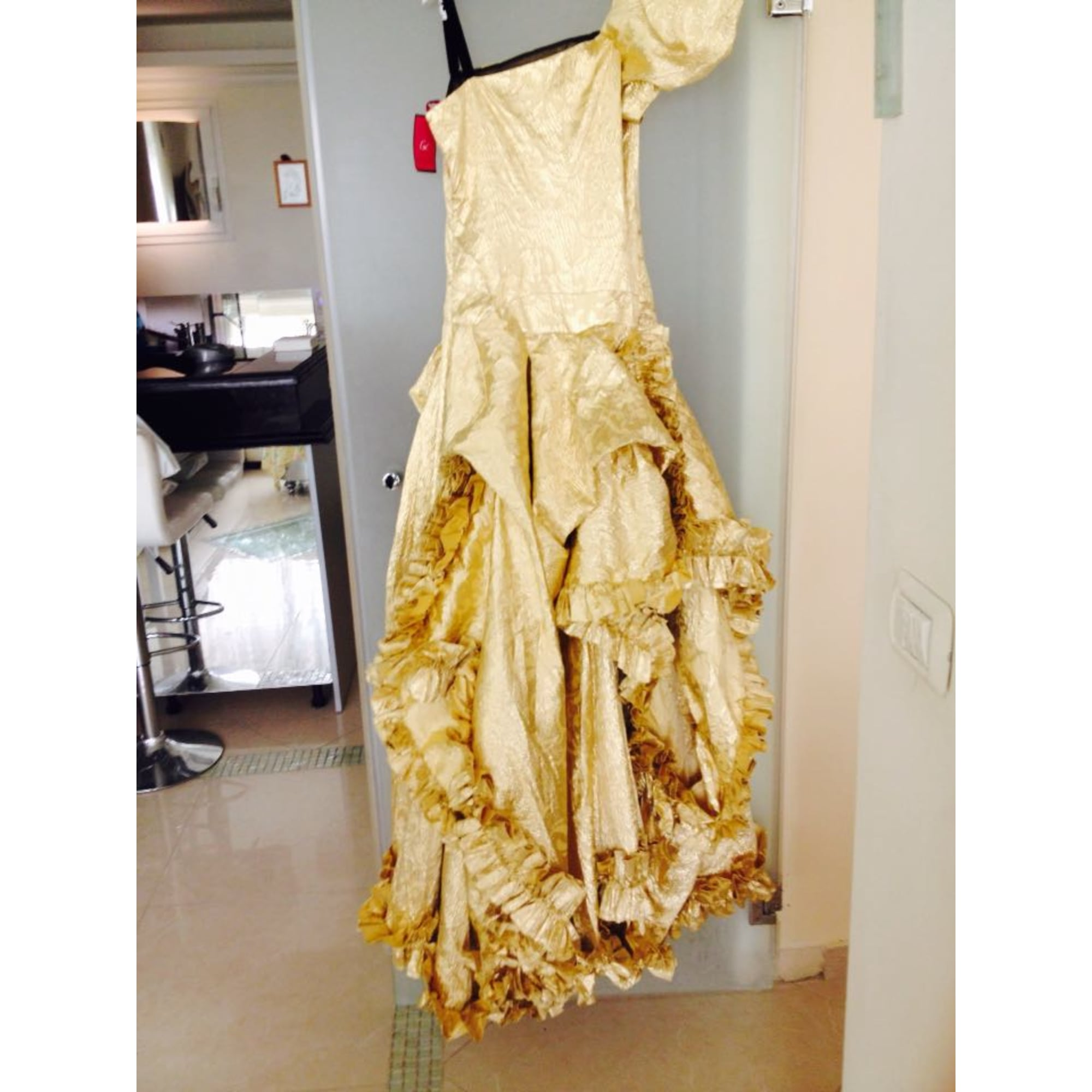 Robe de mariée CHRISTIAN LACROIX 38 (M, T2) doré - 3988509