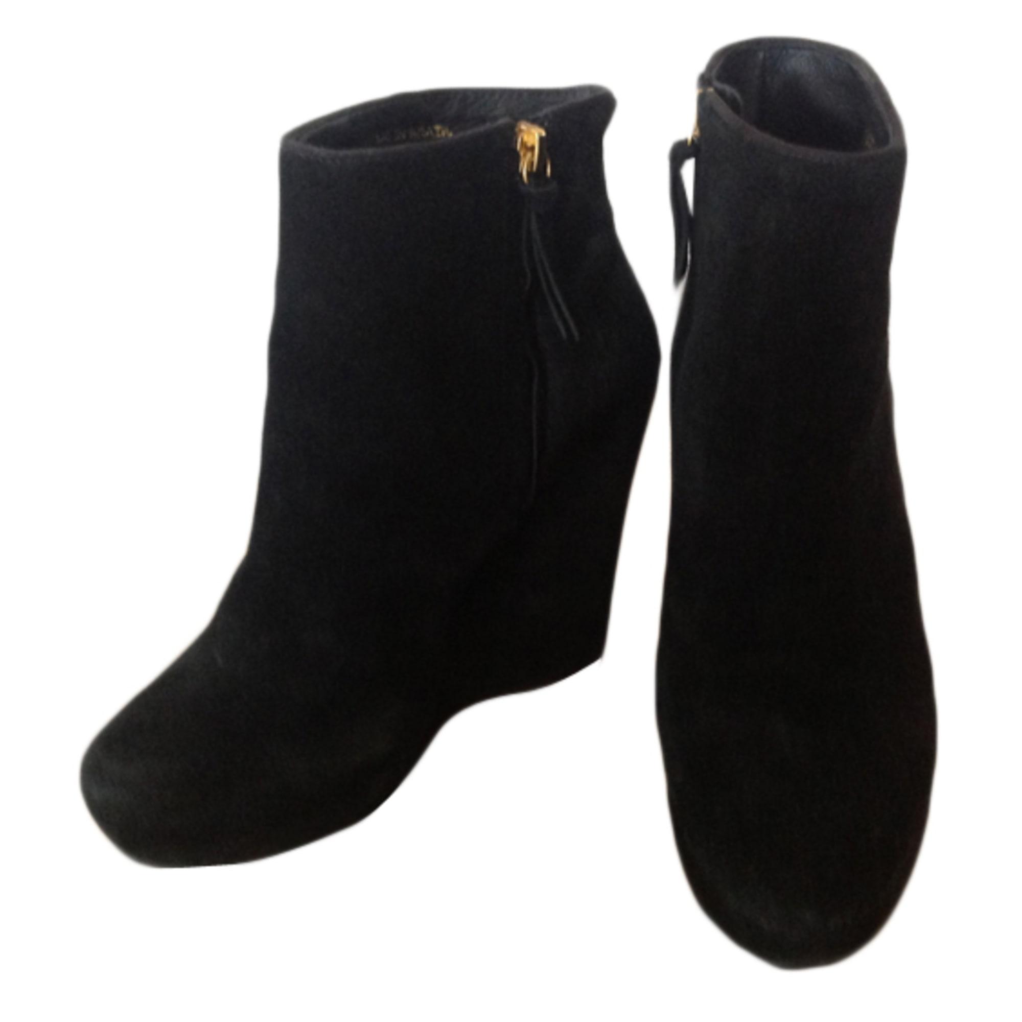 Bottines & low boots à compensés