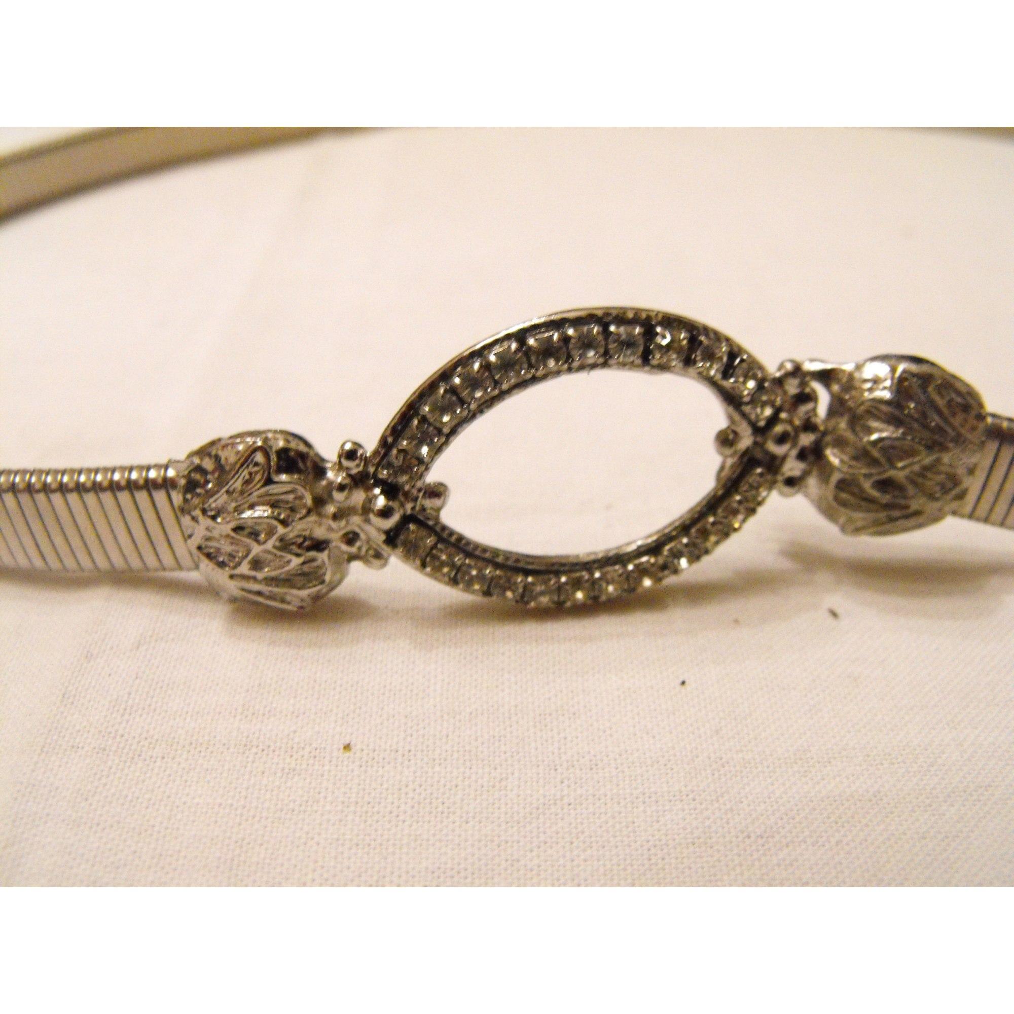 Skinny Belt VINTAGE Silver