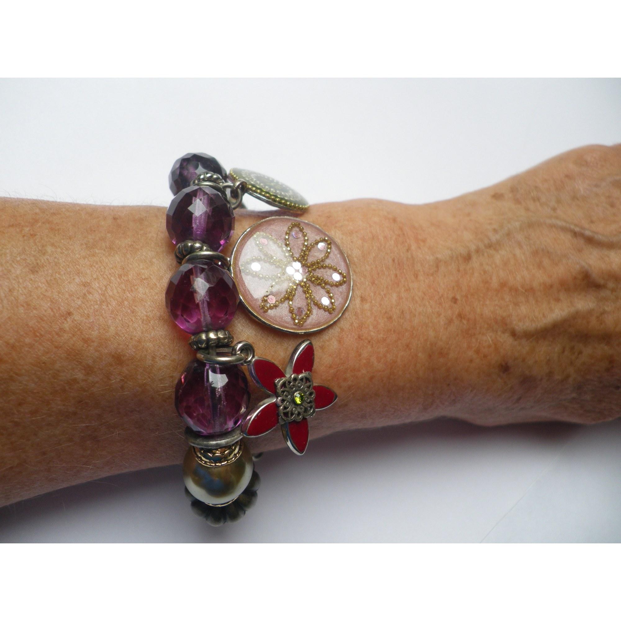 Bracelet LES GENS DU SUD verre multicolore