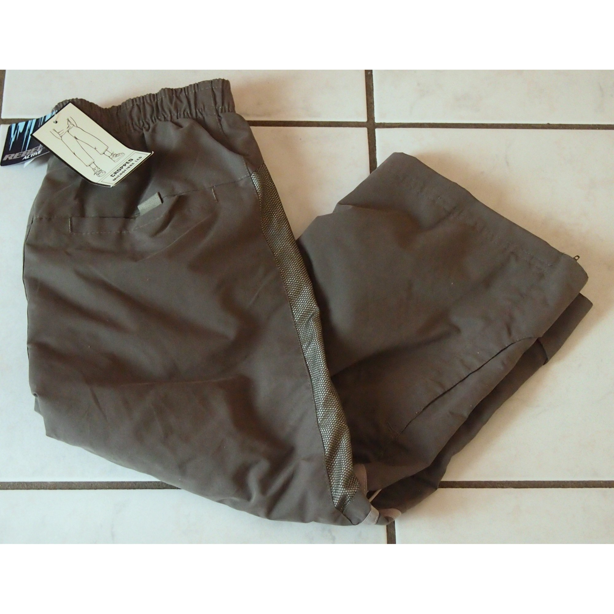Cropped Pants GÉMO Khaki