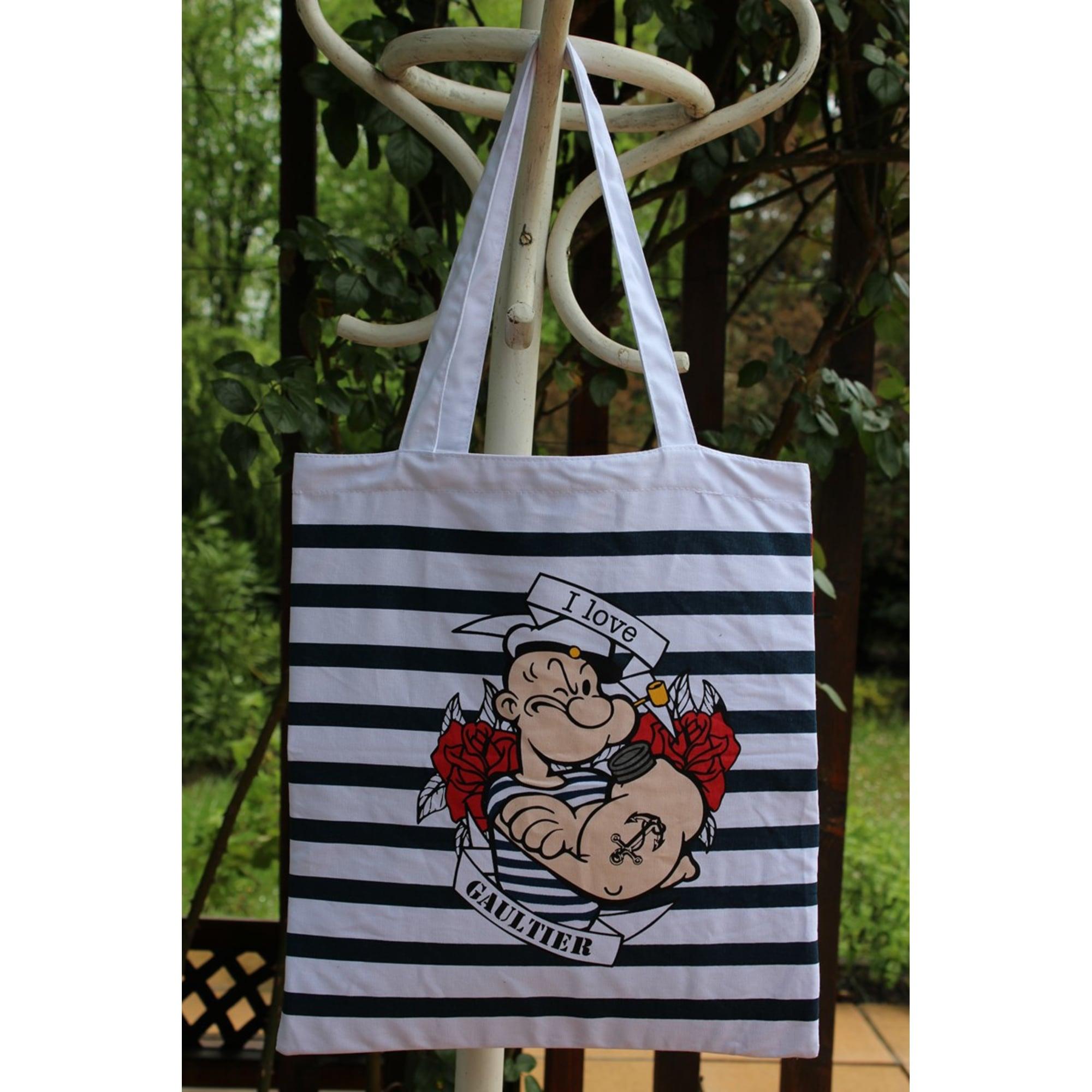Tissu Jean Paul Gaultier sac en bandoulière en tissu
