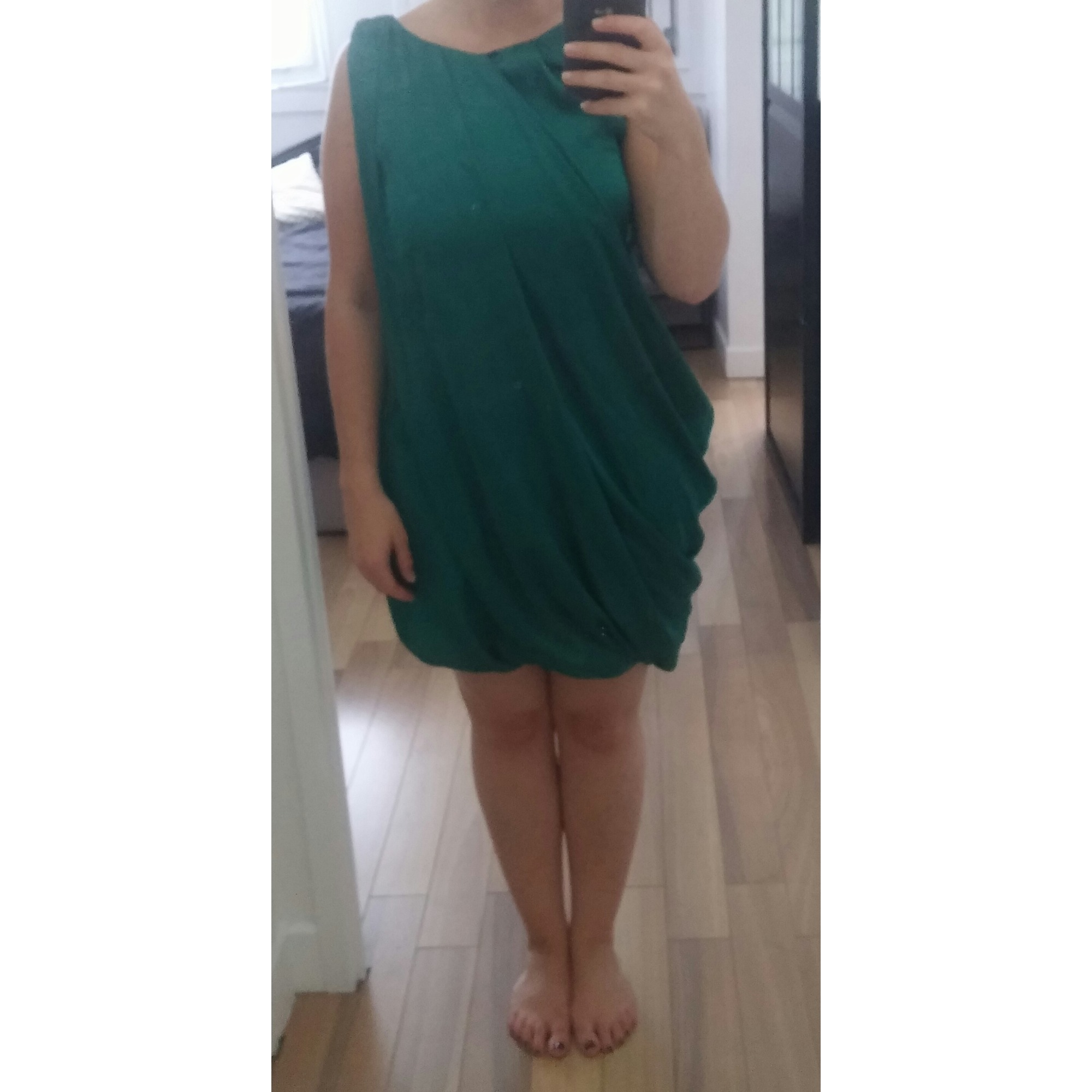 Robe courte SINÉQUANONE Vert