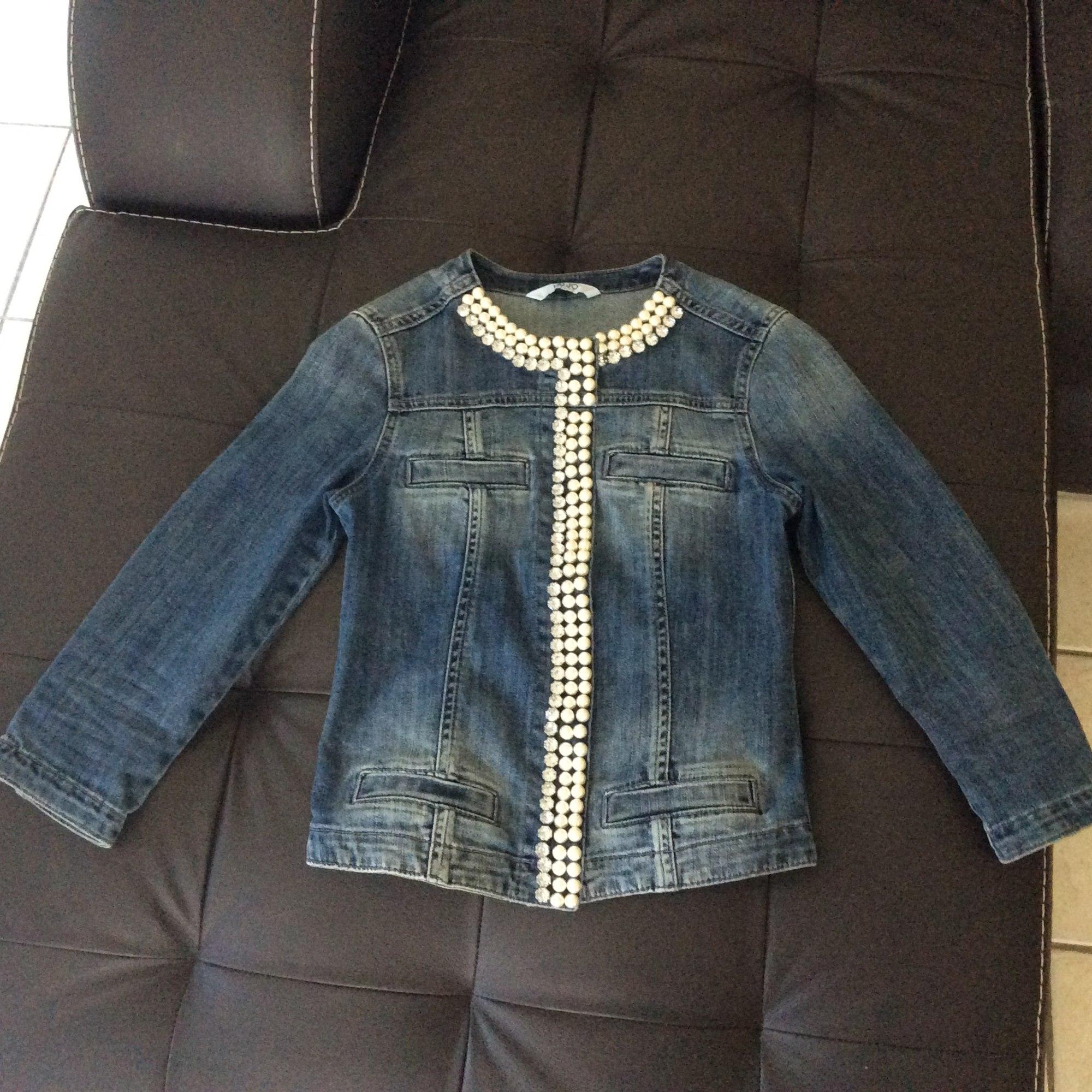 Veste en jean LIU JO 36 (S, T1) bleu vendu
