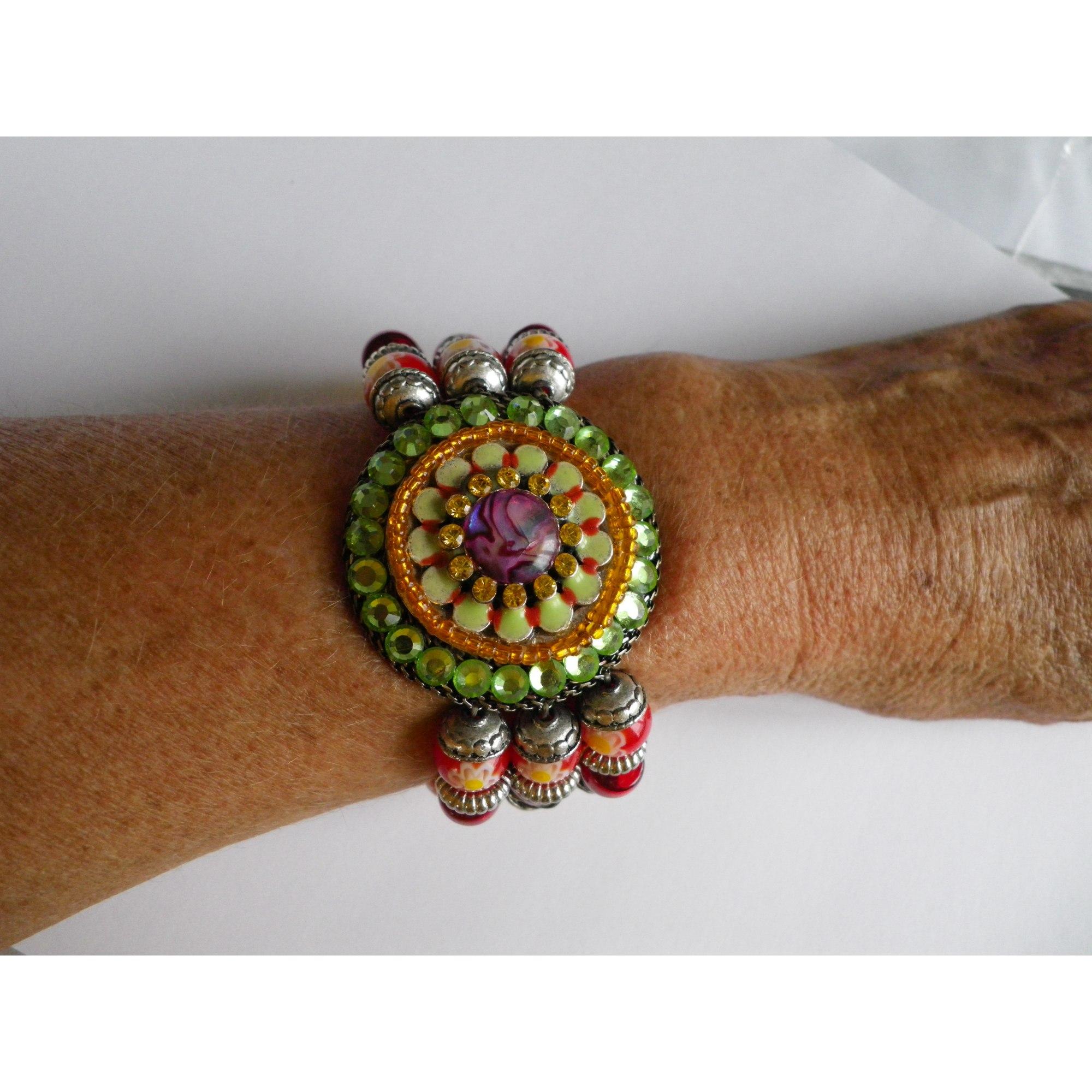 Bracelet LES GENS DU SUD métal multicolore