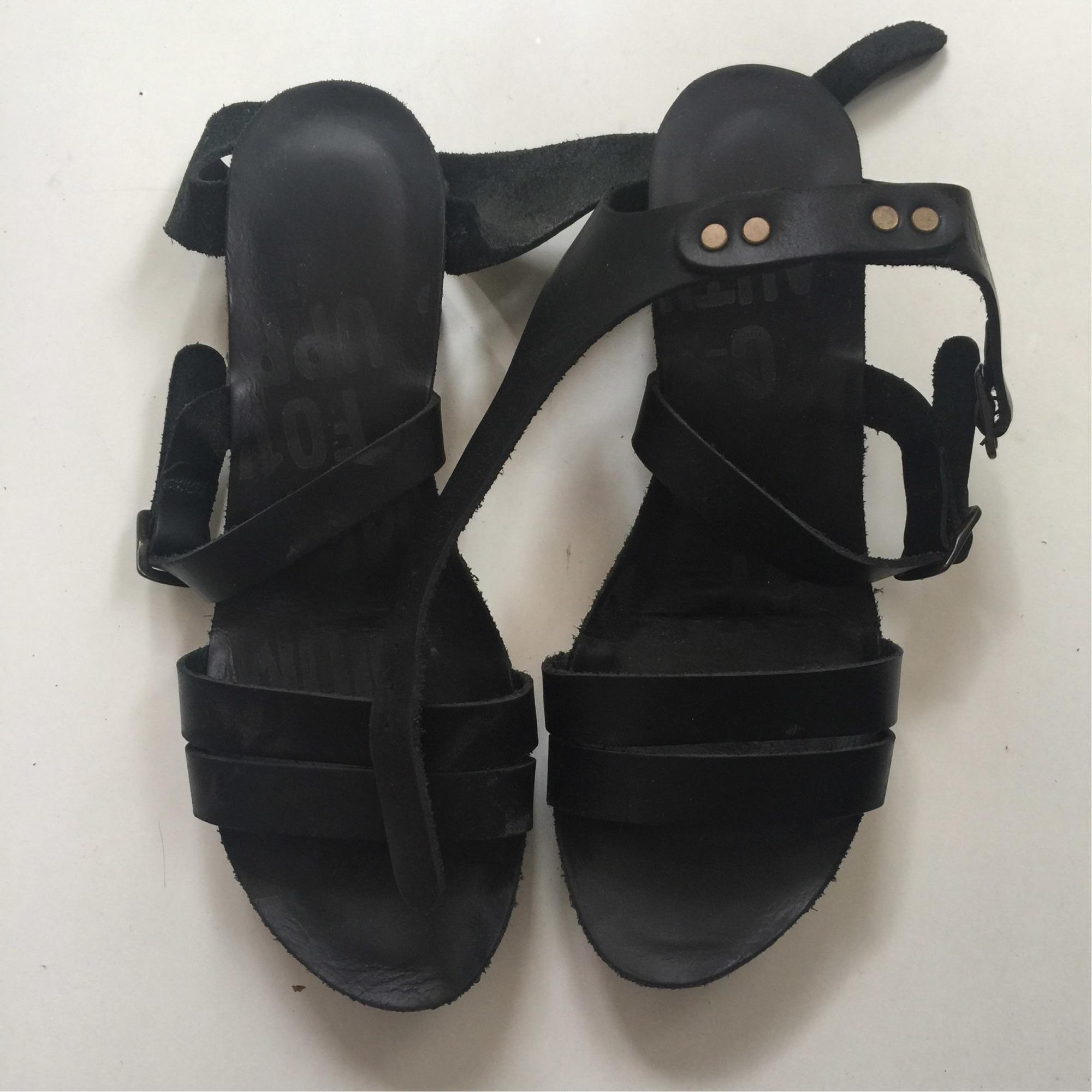 Sandales compensées PALLADIUM Noir