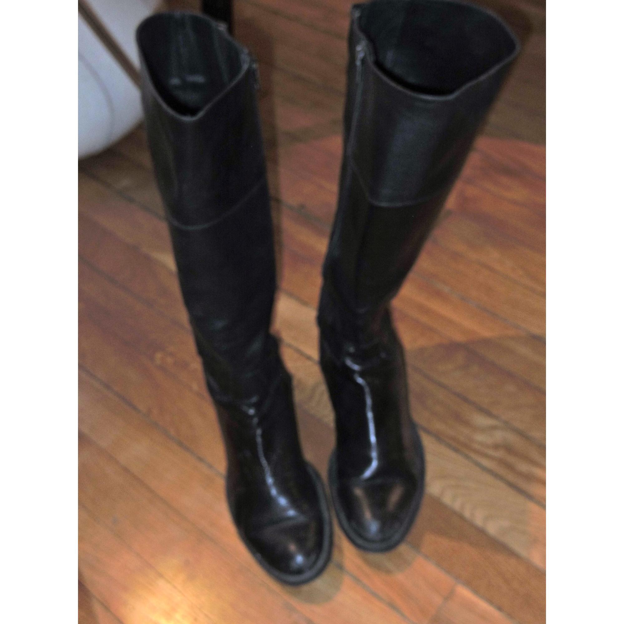 Bottes cavalières JONAK 39 noir vendu par Maud la mode51094