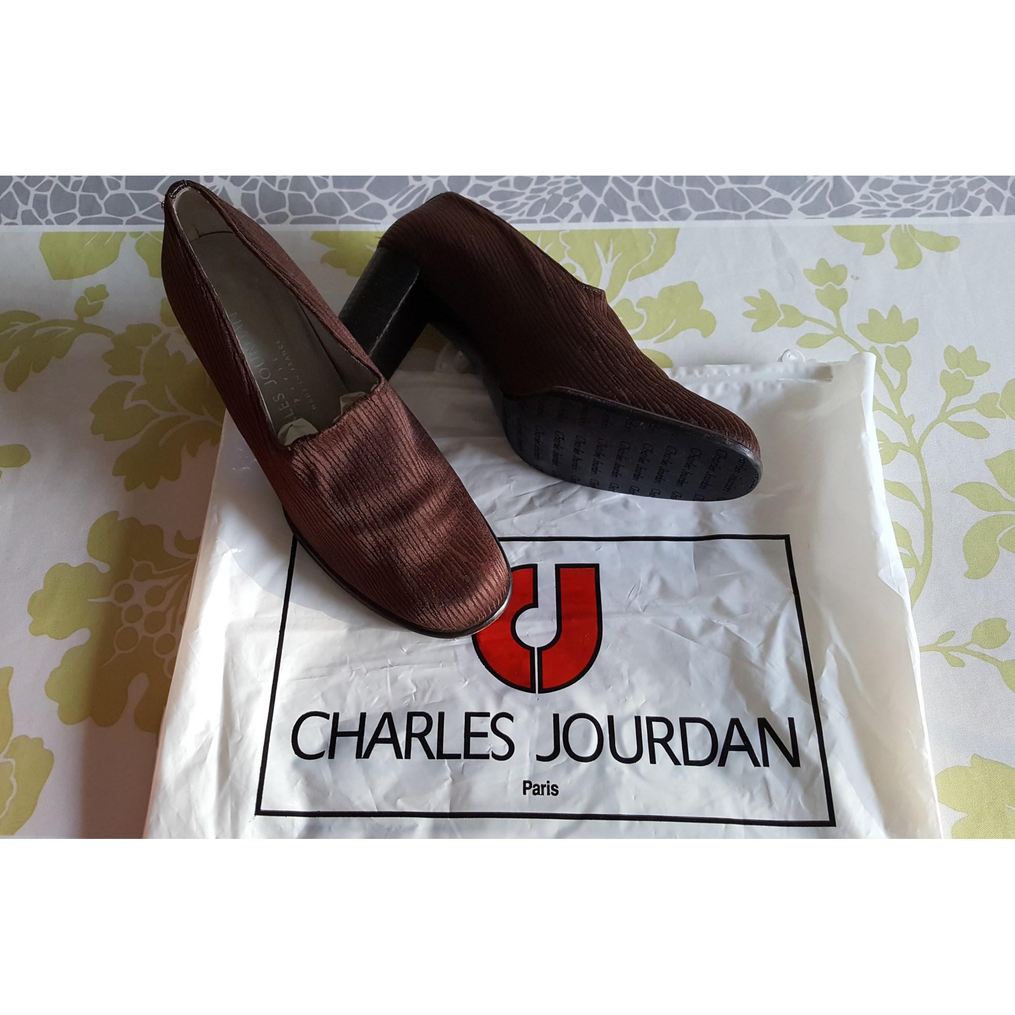 Bottines & low boots à talons CHARLES JOURDAN Marron