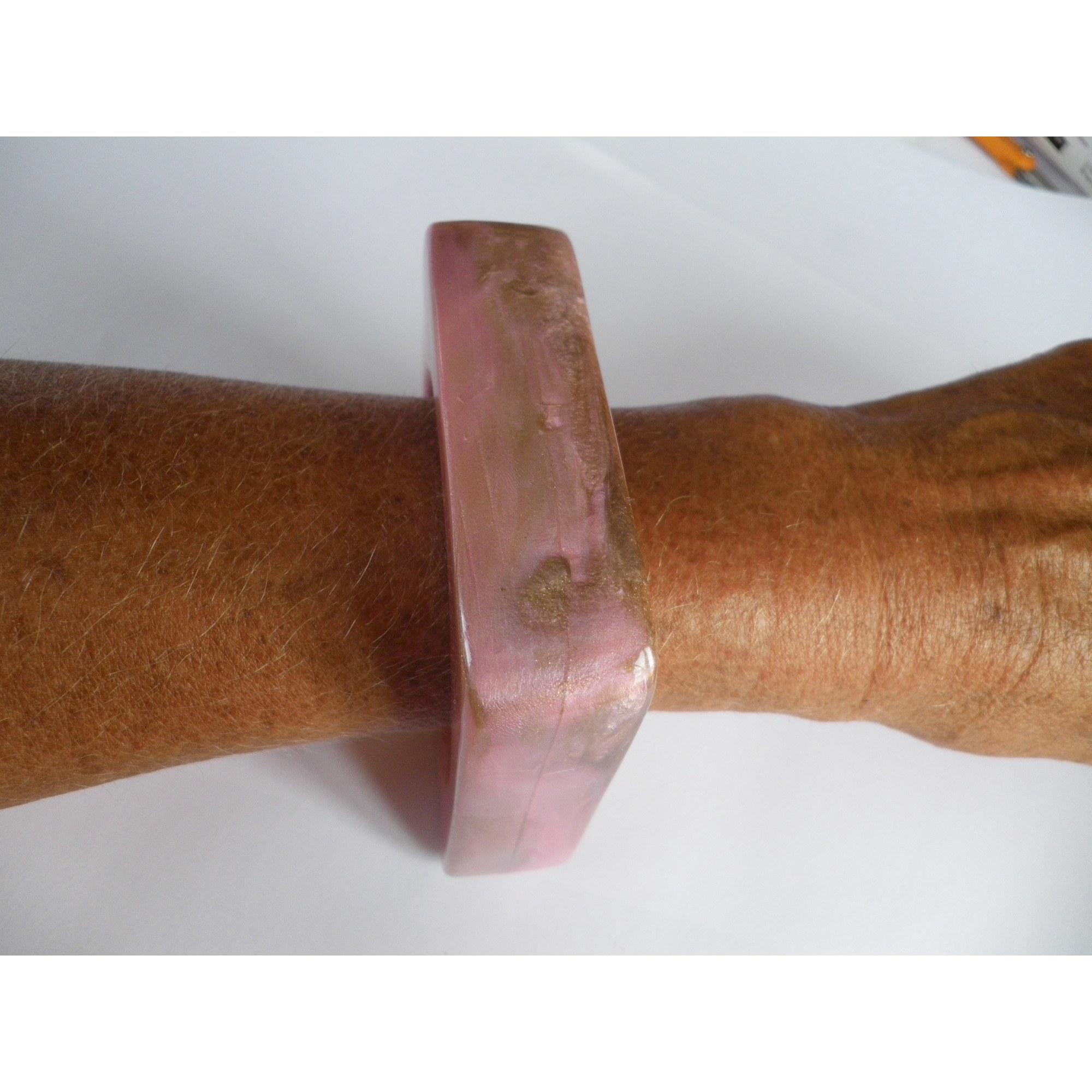 Bracelet DOMINIQUE DENAIVE résine rose