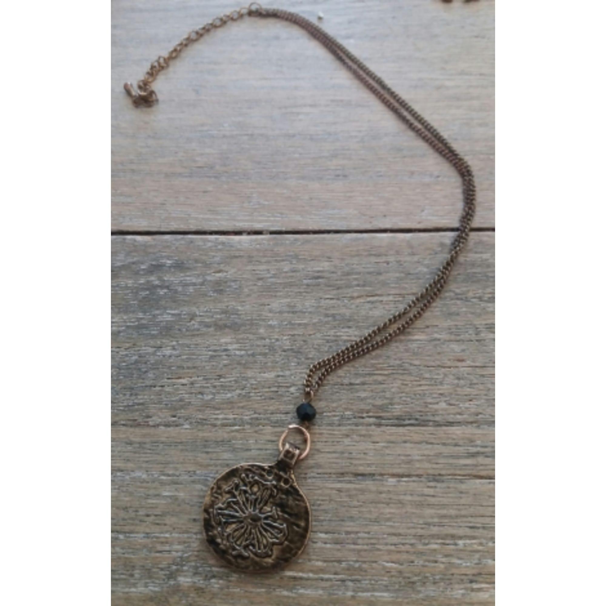 Collier MAISON SCOTCH métal doré