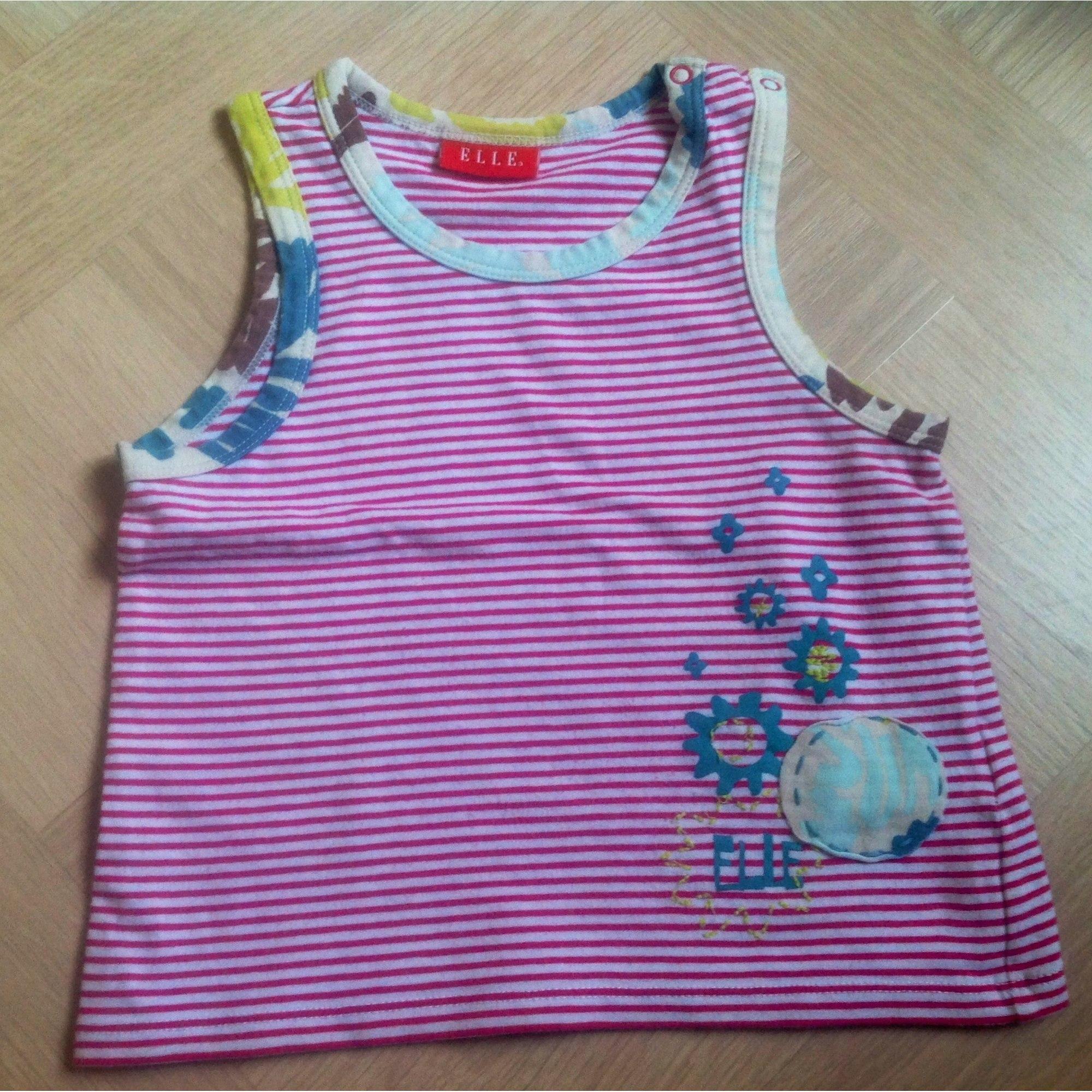 Top, Tee-shirt ELLE Multicouleur