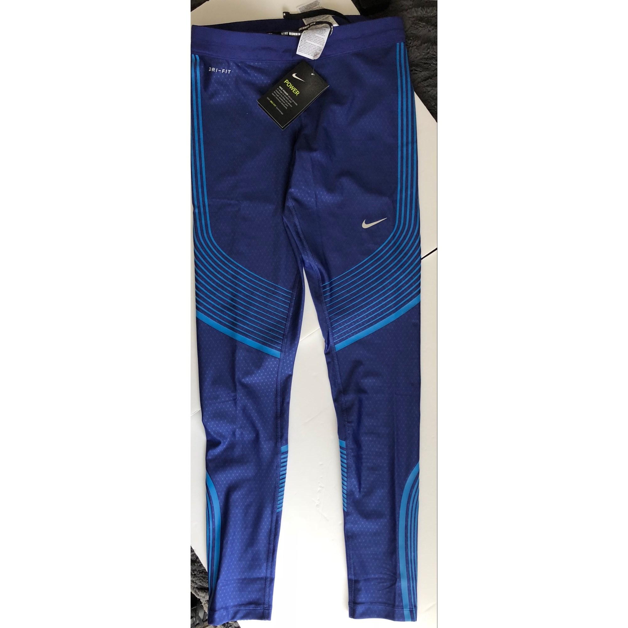 pantalon de survetement nike bleu marine