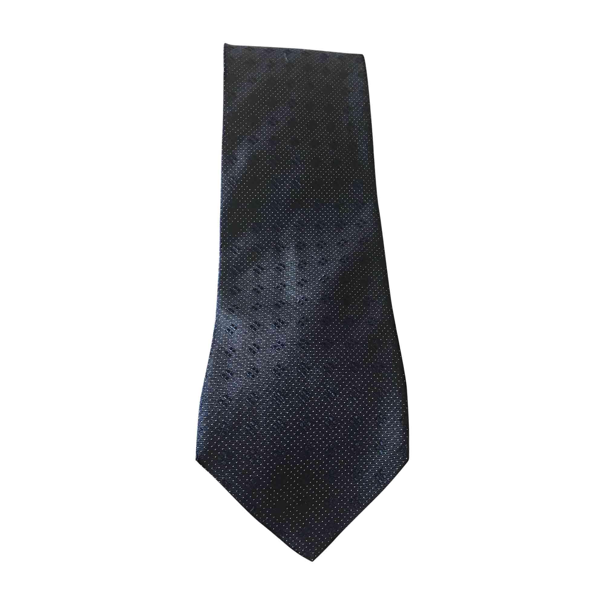 Tie ARMANI Blue, navy, turquoise