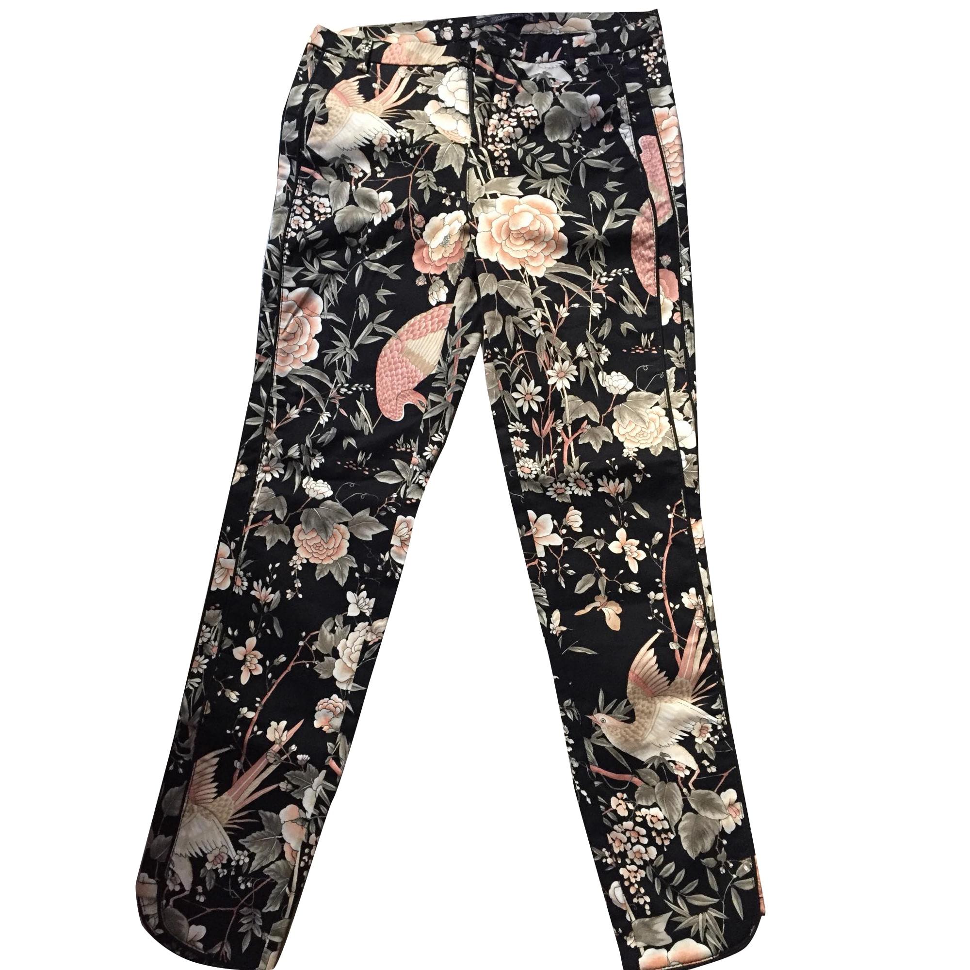 pantalon fleuri homme zara