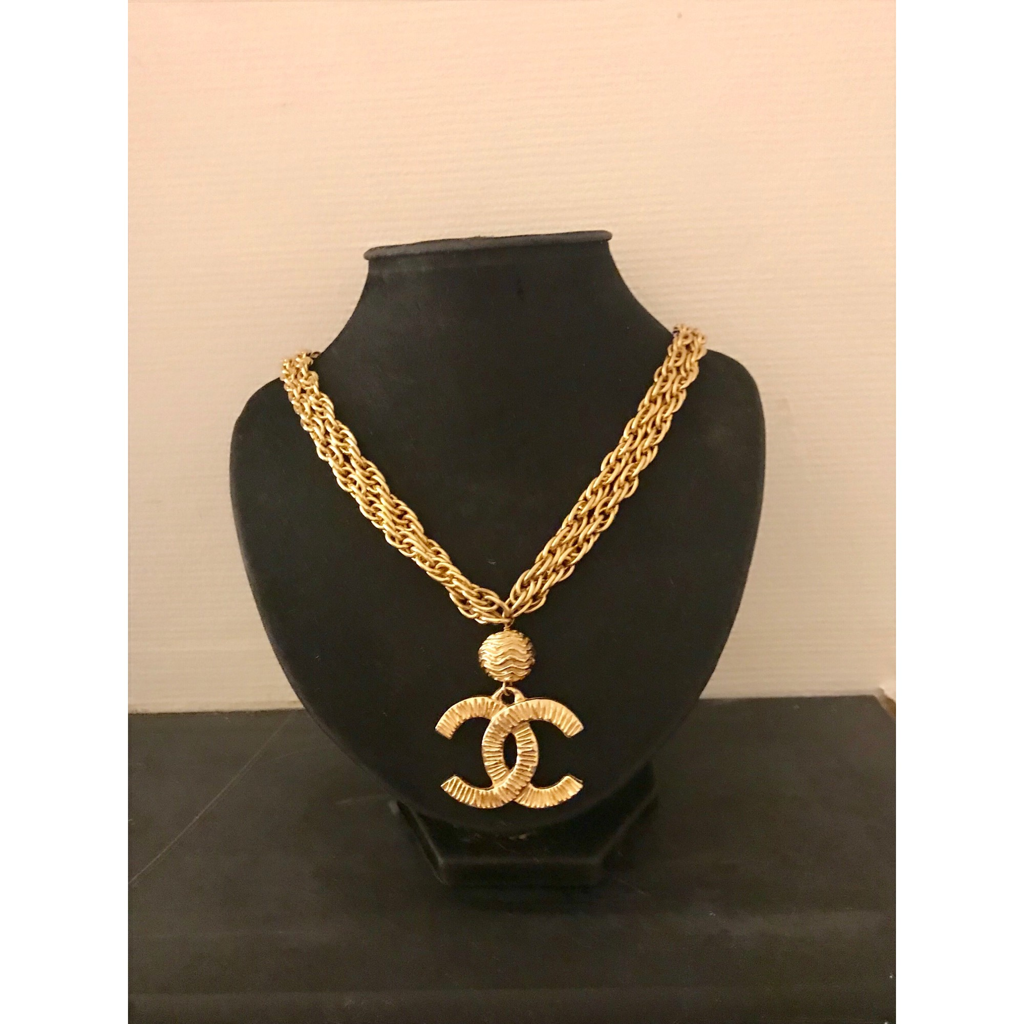 collier femme channel