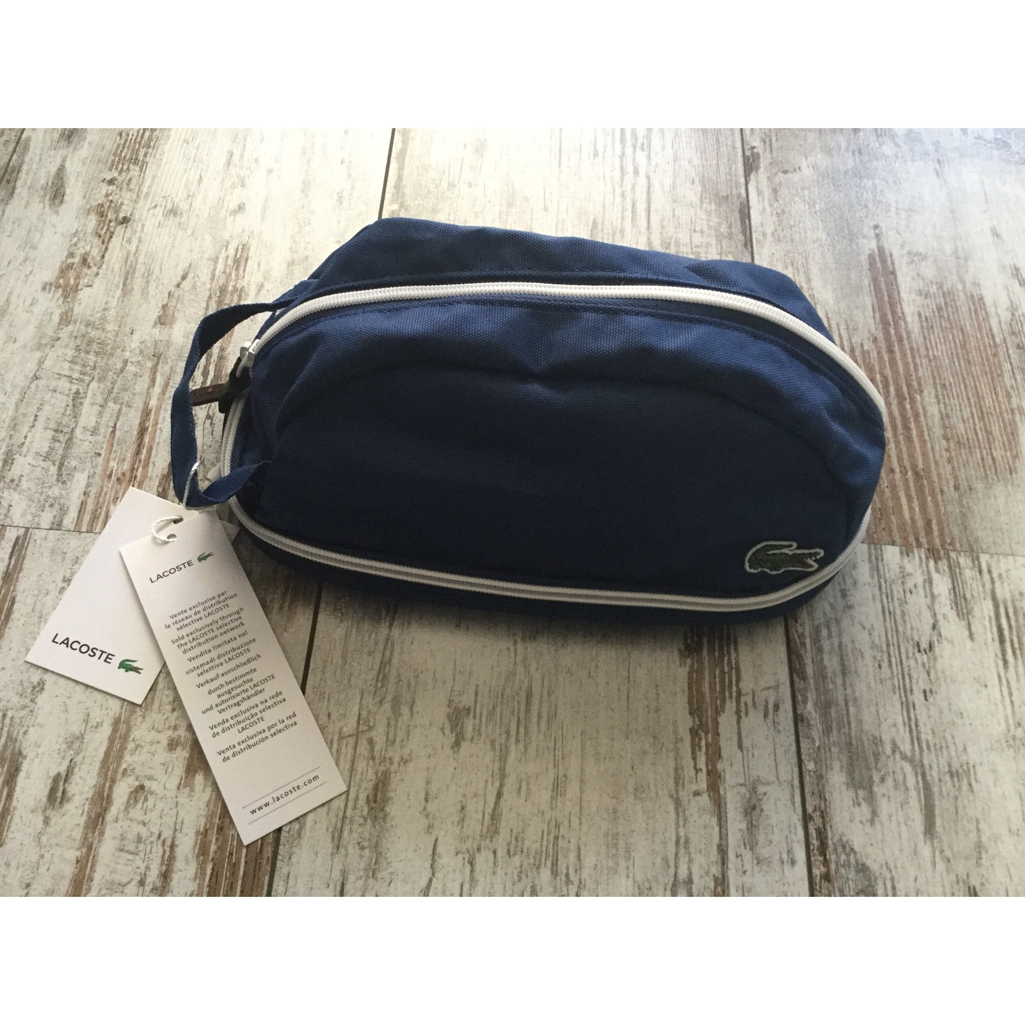 Satchel LACOSTE Blue, navy, turquoise