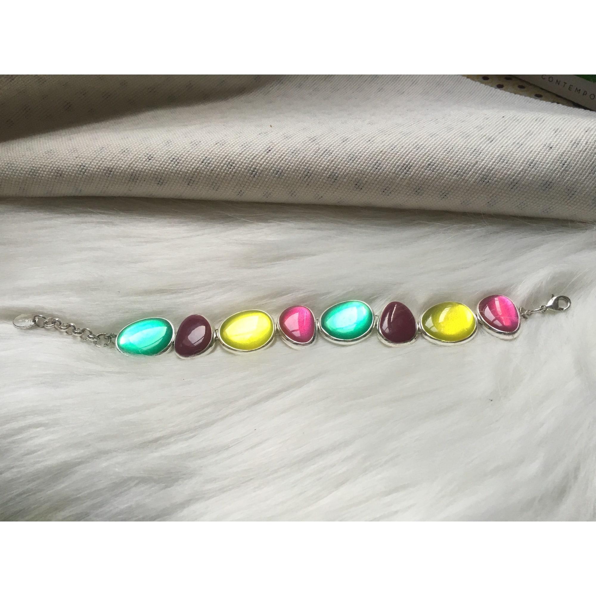 Bracelet SKALLI laiton multicolore