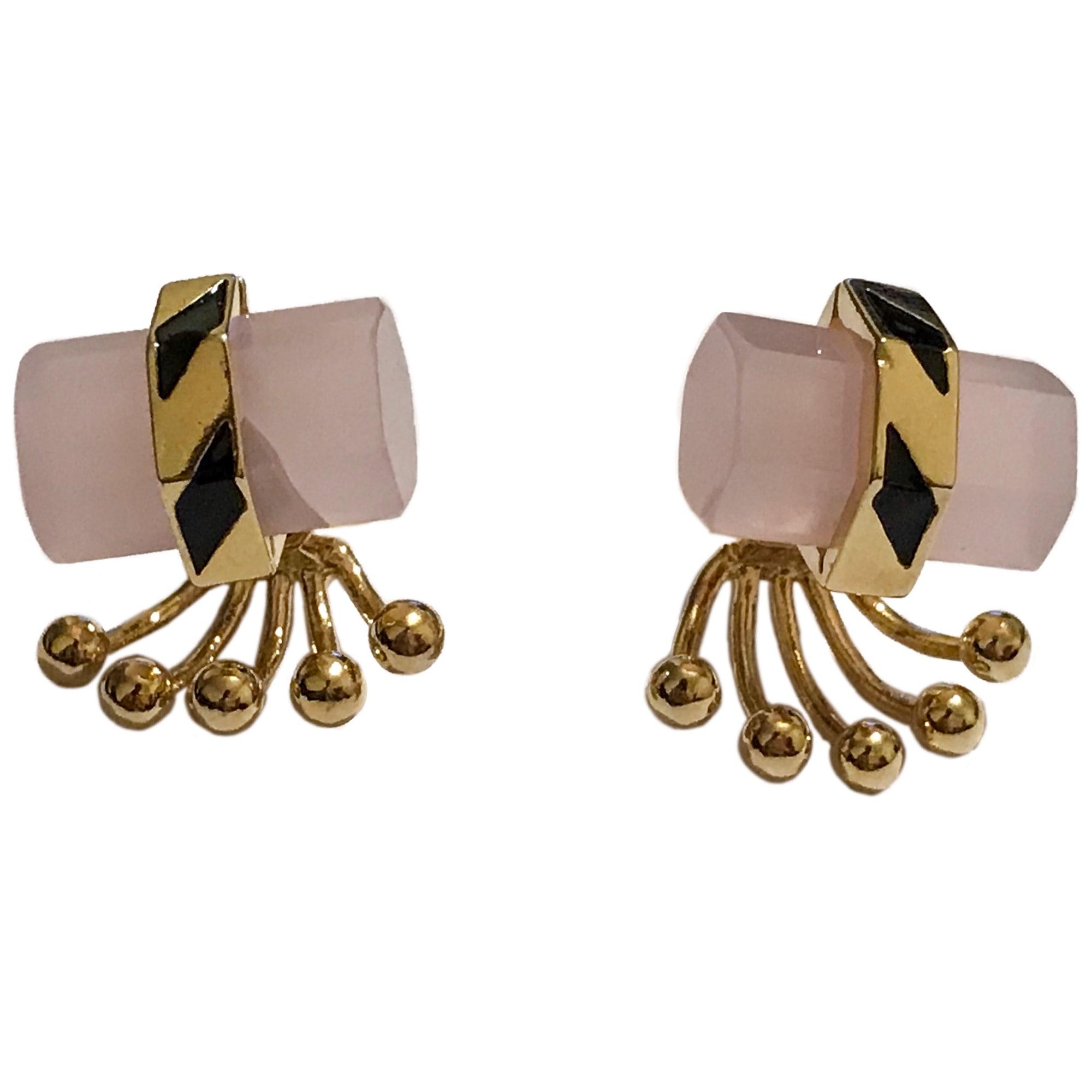 Boucles d'oreille LES NÉRÉIDES Doré, bronze, cuivre