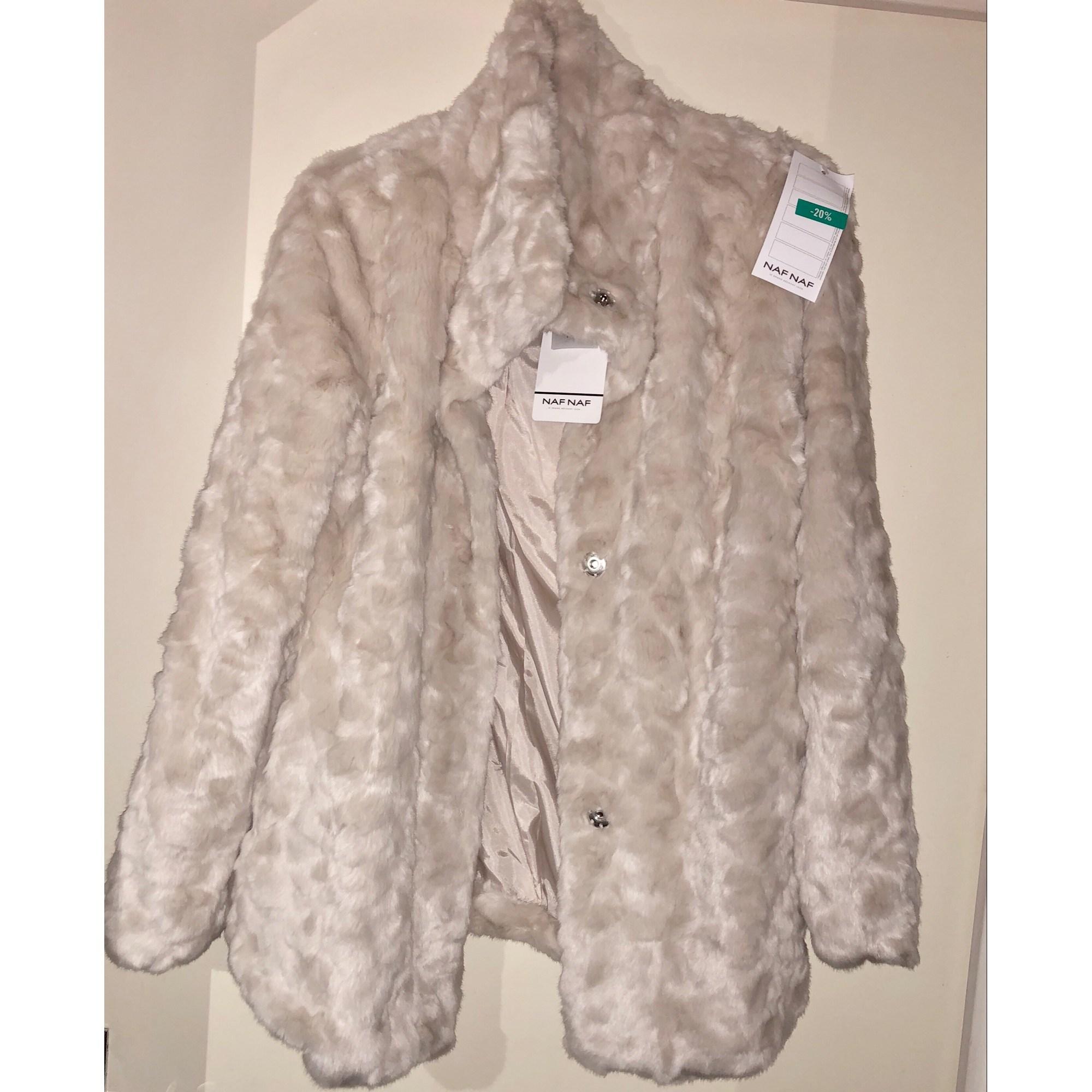 Manteaux et vestes blancs NAF NAF pour femme | eBay