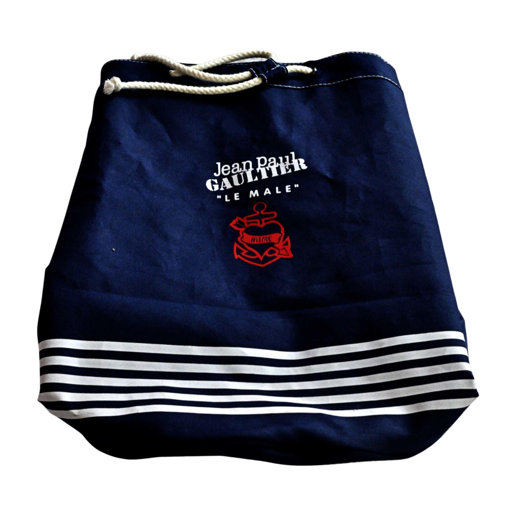 Tissu Jean Paul Gaultier sac à main en tissu