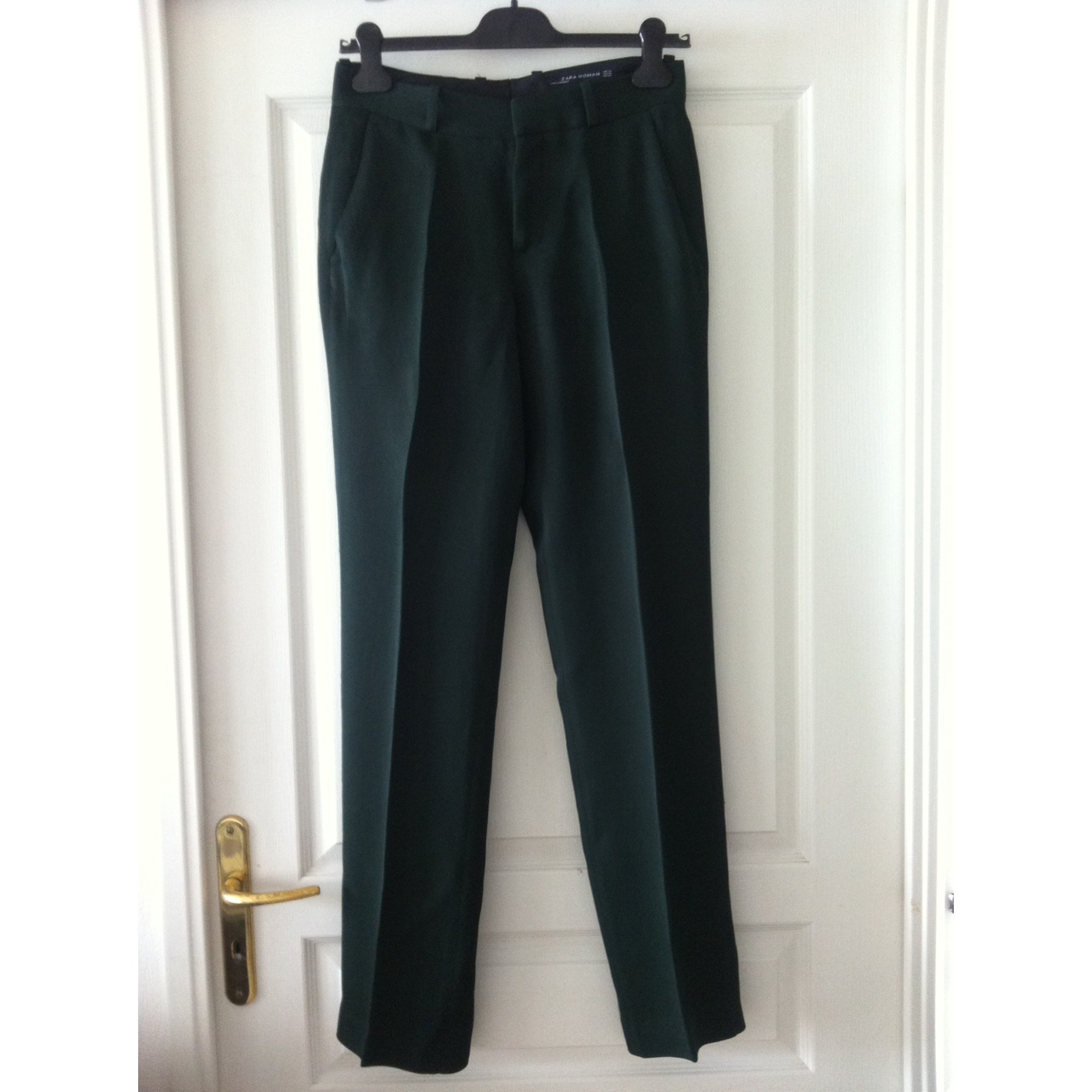 pantalon droit femme zara