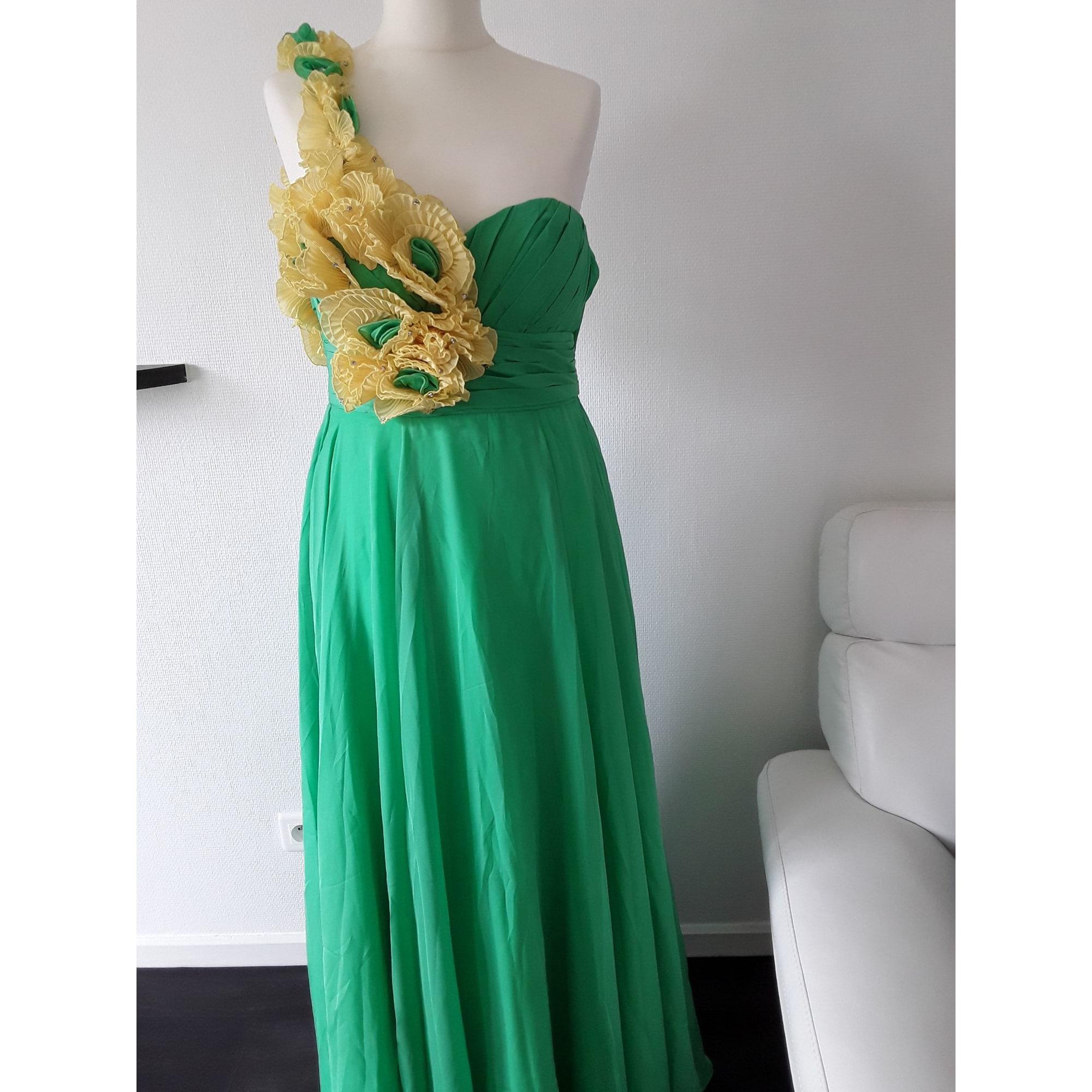 Robe longue EDRESSIT Vert