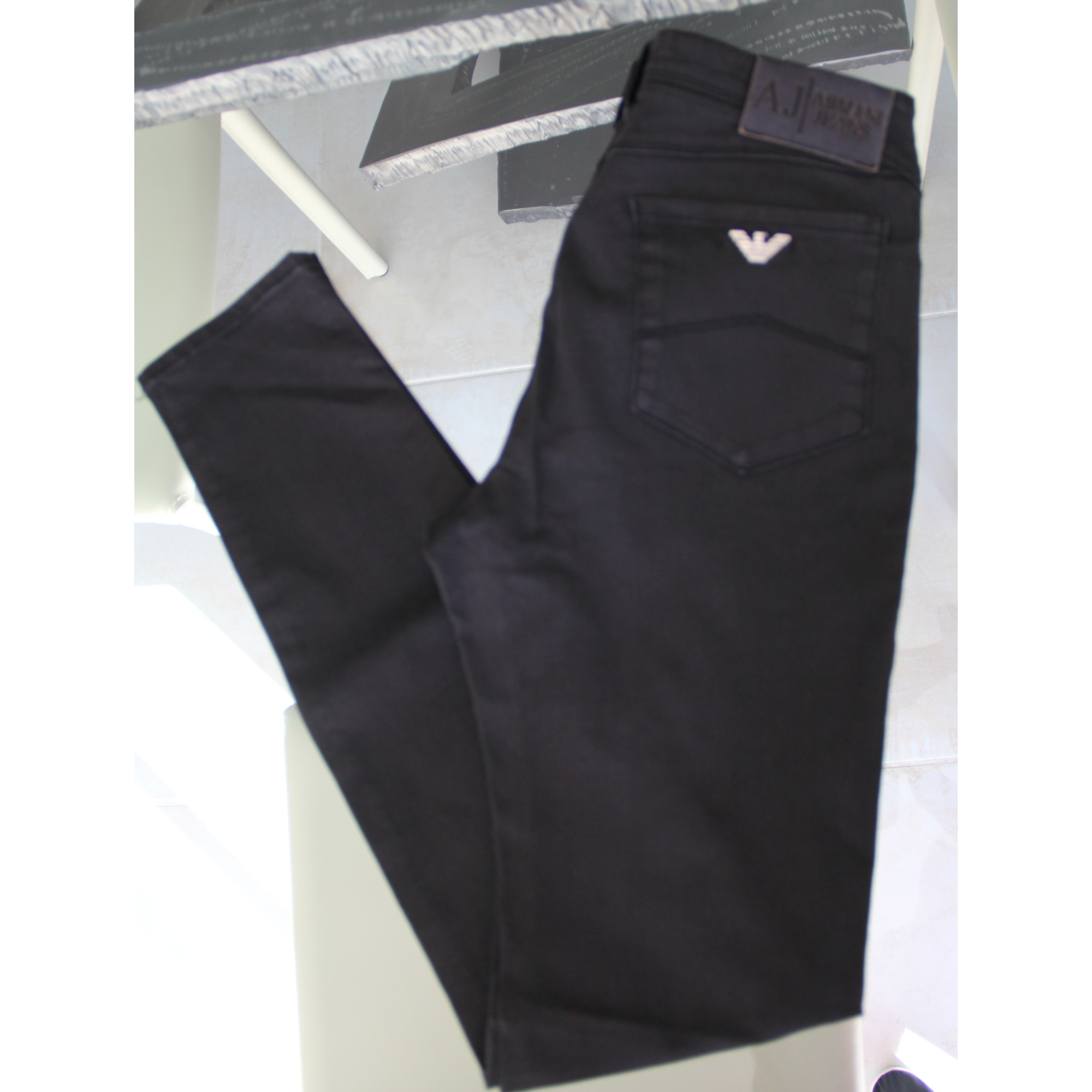 Jeans slim ARMANI JEANS Noir